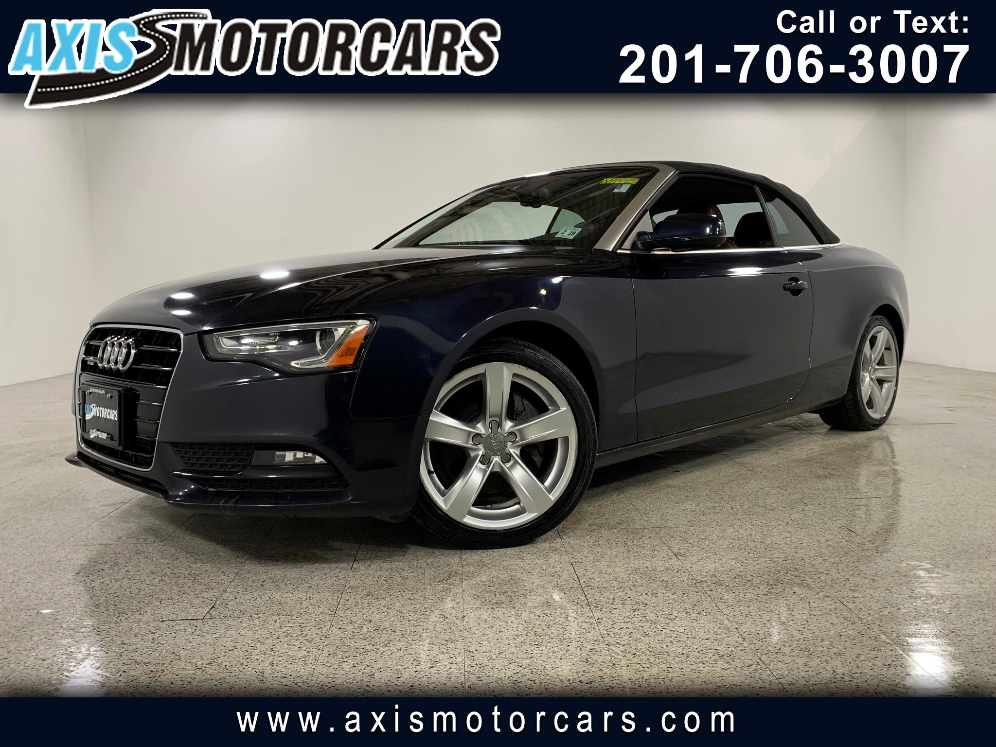 2014 Audi A5 2.0T Premium Plus w/Navigation Bakup Camera