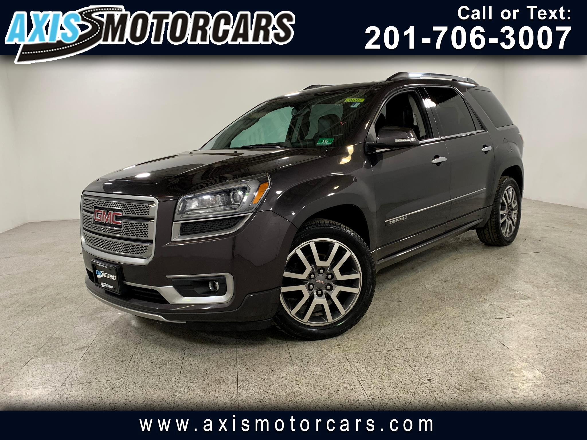 2013 GMC Acadia w/Bose Sound System Rear Entertainment Navigation