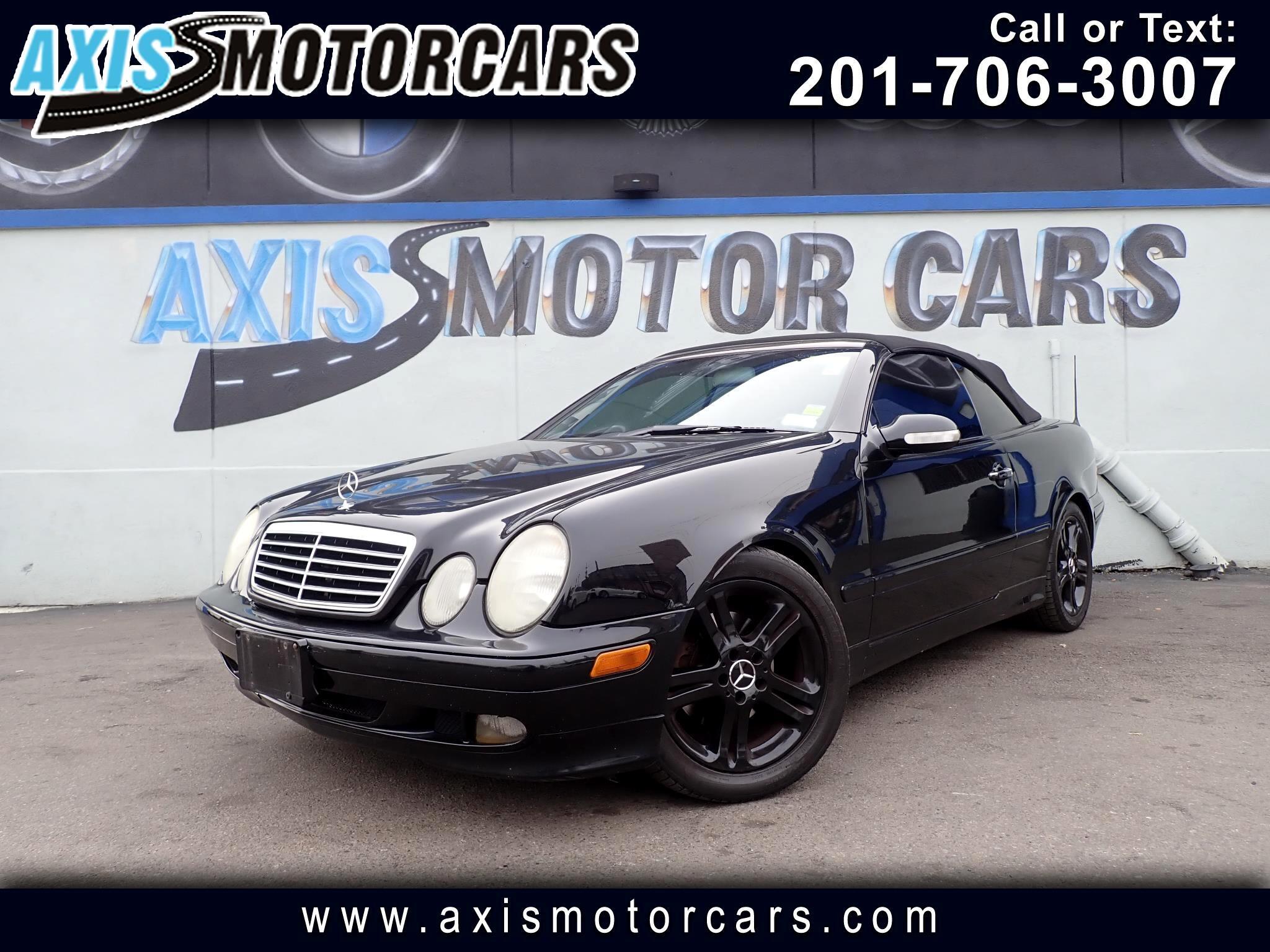 2002 Mercedes-Benz CLK-Class CLK320 Convertible w/Leather
