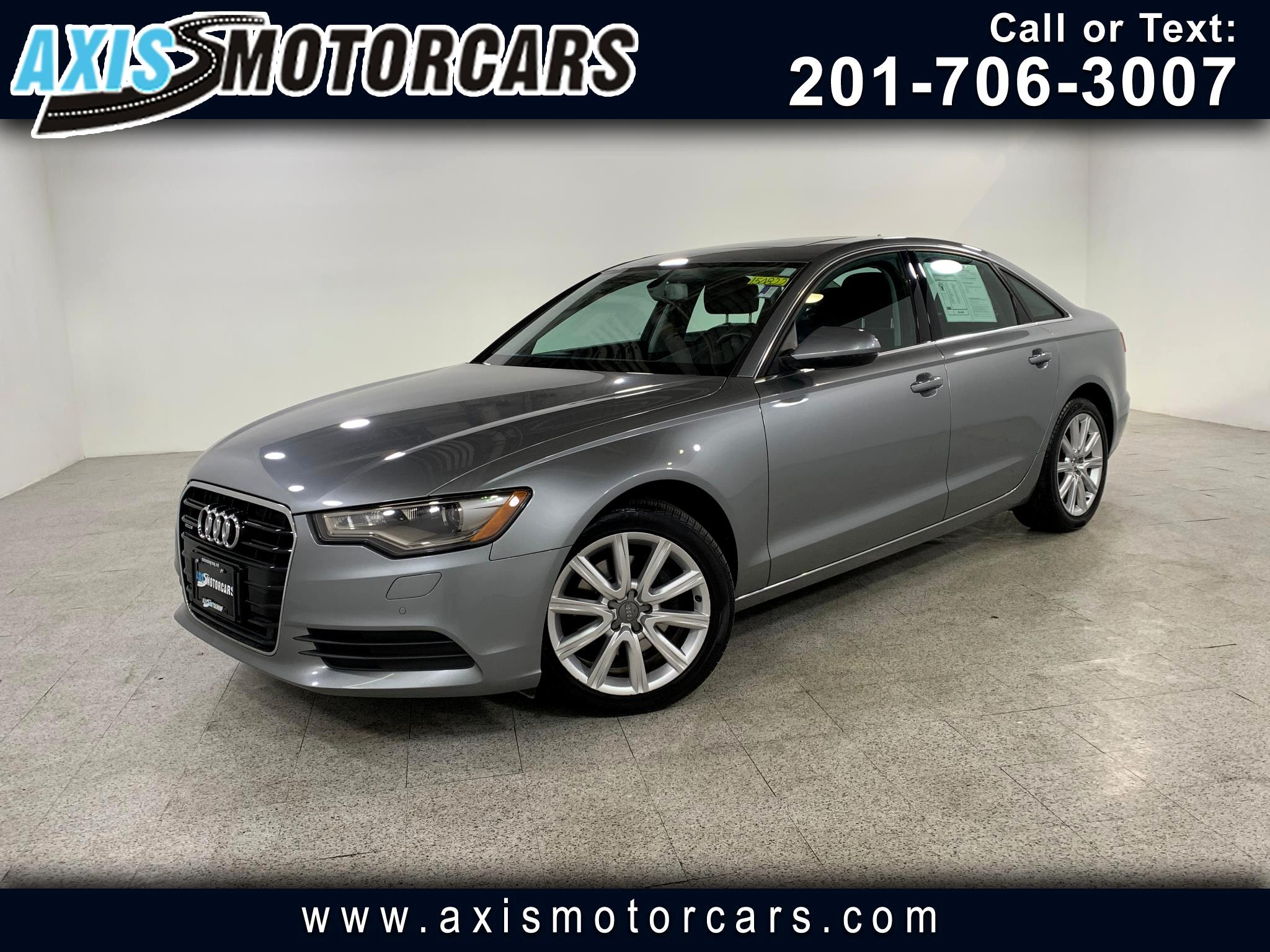 2013 Audi A6 Premium Plus w/Navigation Bakup Camera Sunroof