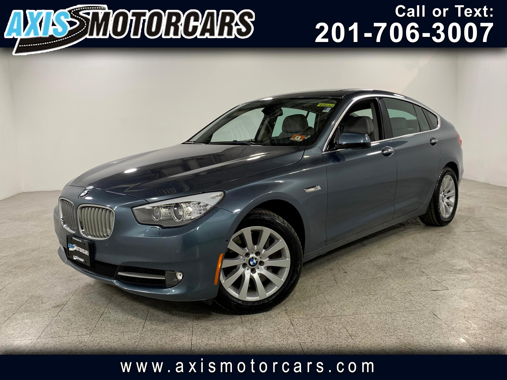 2013 BMW 550i Gran Turismo w/PanoramicRoof Navigation Bakup Camera