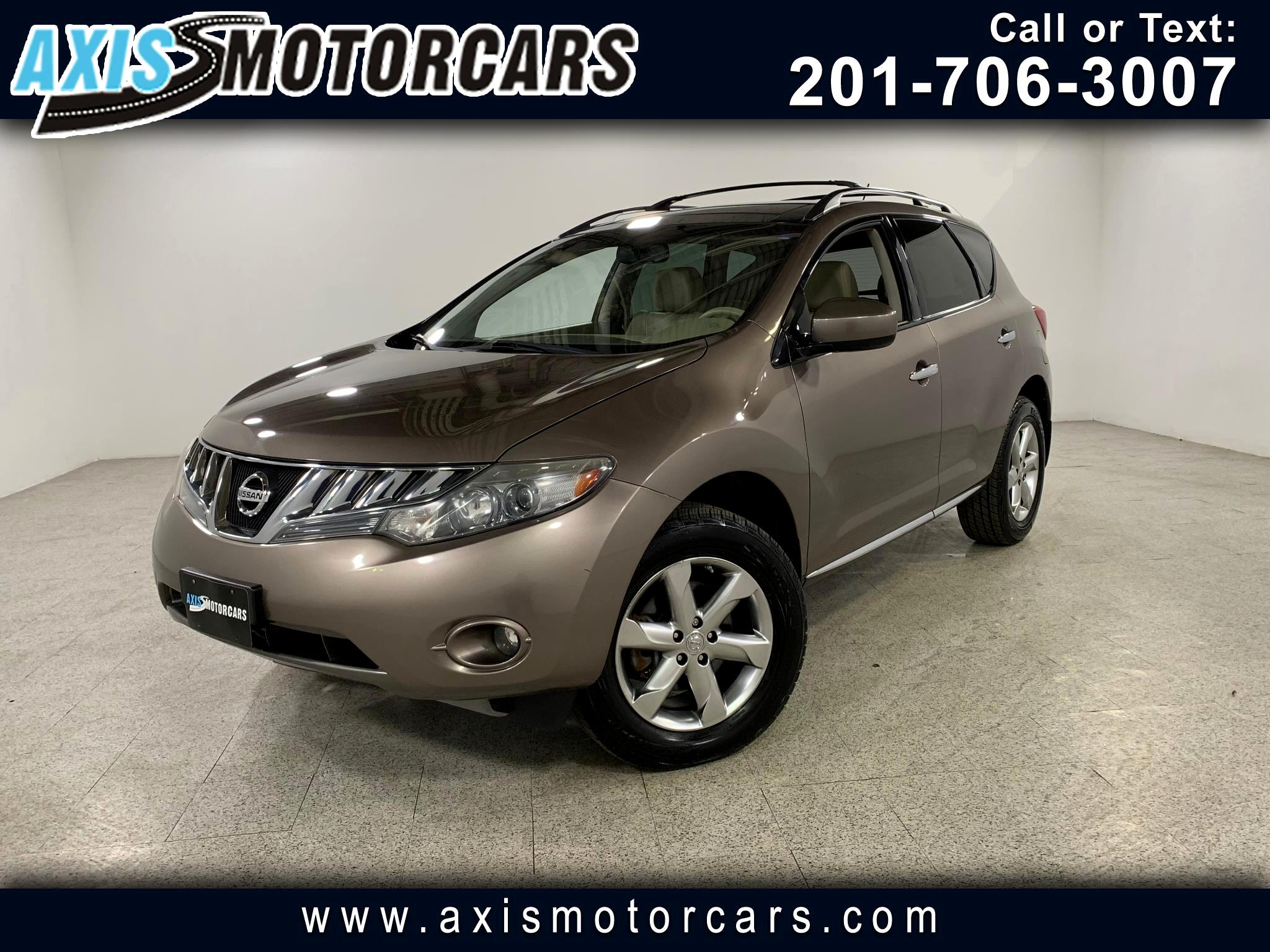 2010 Nissan Murano SL w/Bose Sound System Panoramic Roof