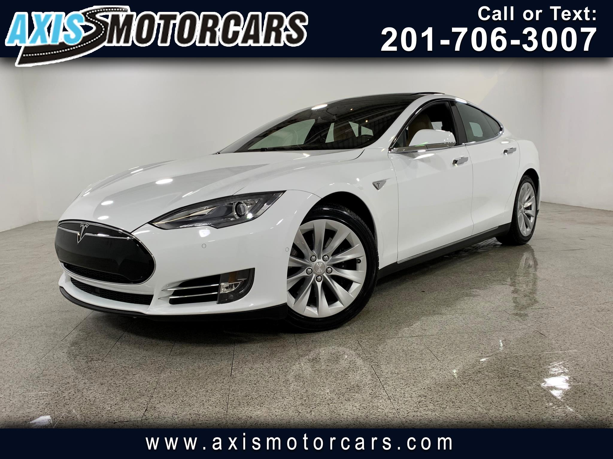 2015 Tesla Model S 85D w/Panoramic Roof Navigation Bakup Camera