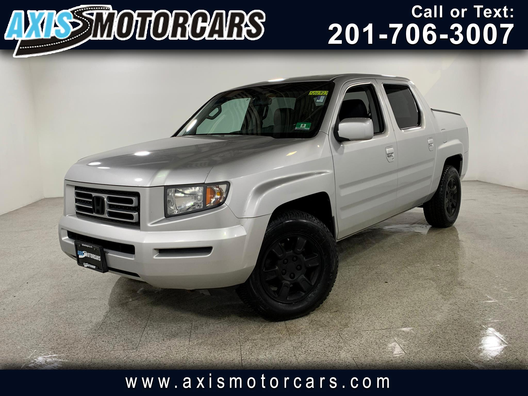 2007 Honda Ridgeline Crew Cab RTL w/Leather Navigation