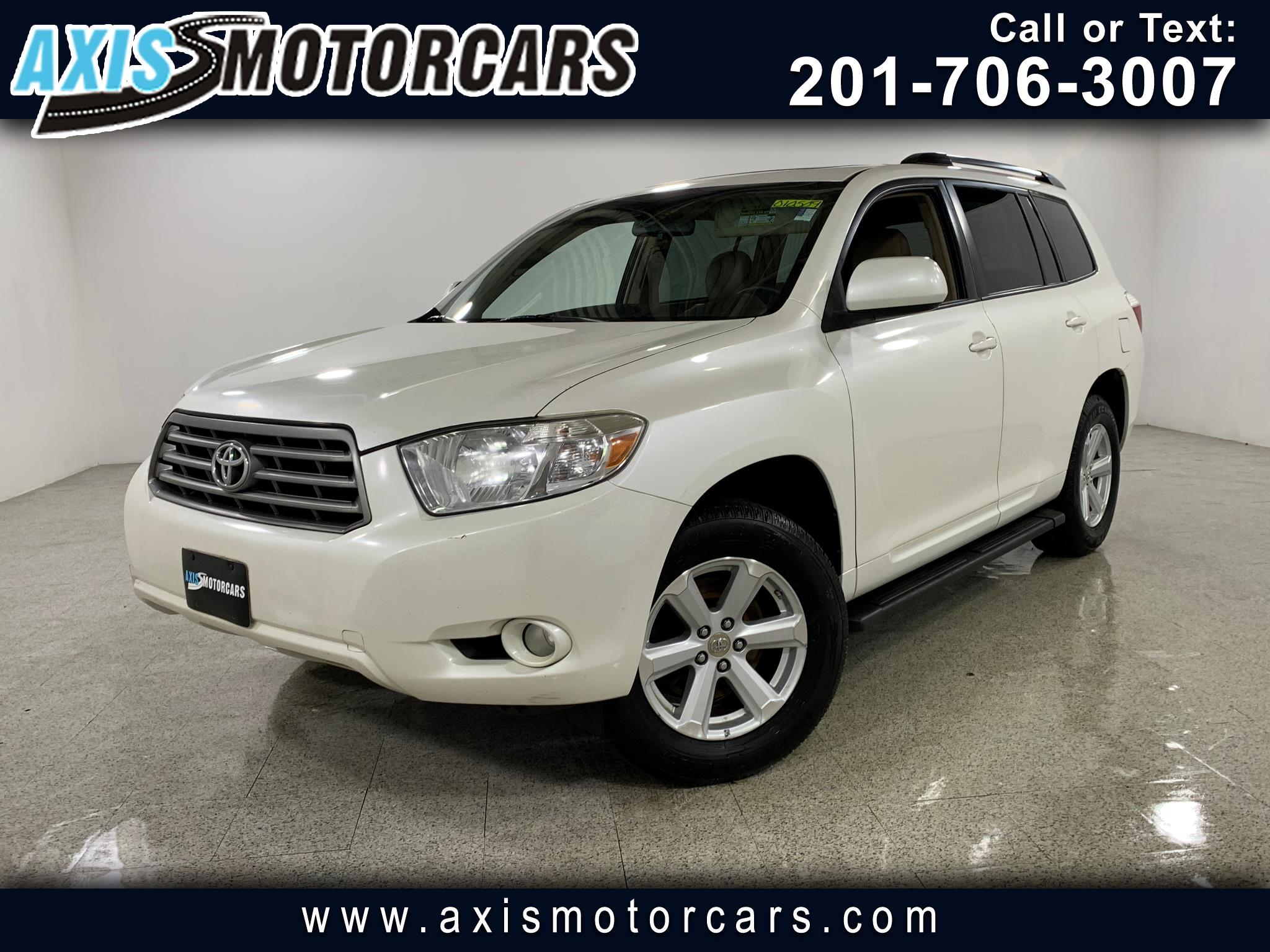 2010 Toyota Highlander SE w/Sunroof Bakup Camera Leather