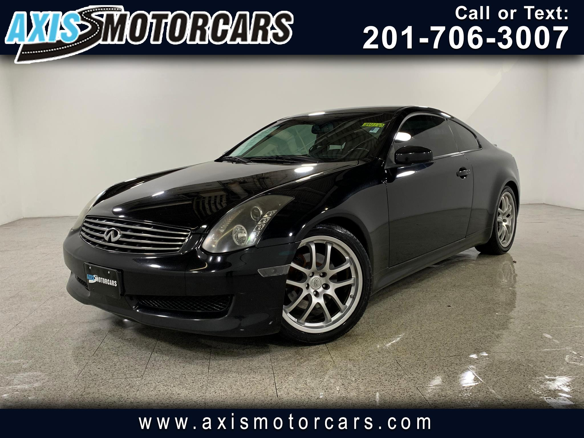 2006 Infiniti G35 Cpe w/Sunroof Leather