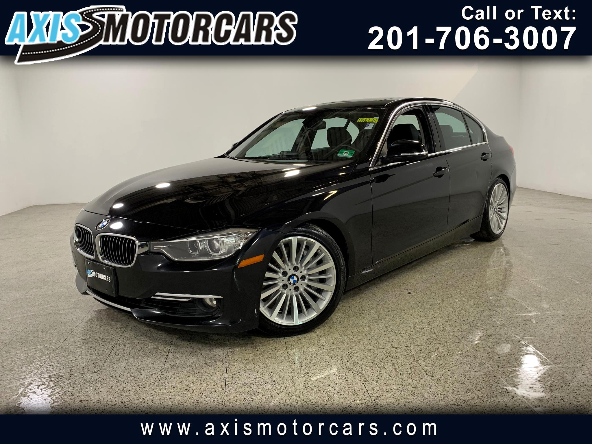 2013 BMW 335i w/Navigation Sunroof Leather