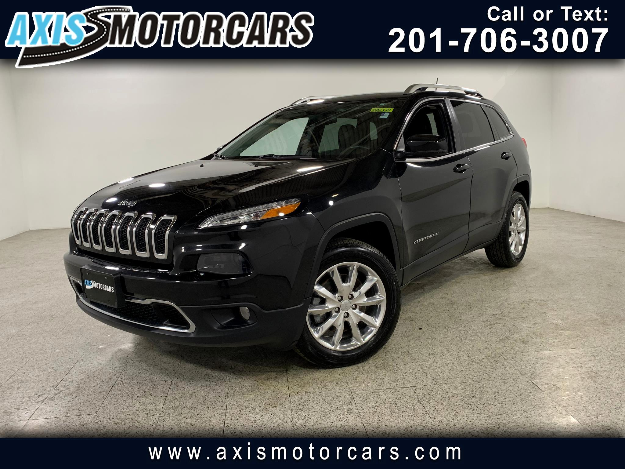 2016 Jeep Cherokee Limted w/Bakup Camera Leather
