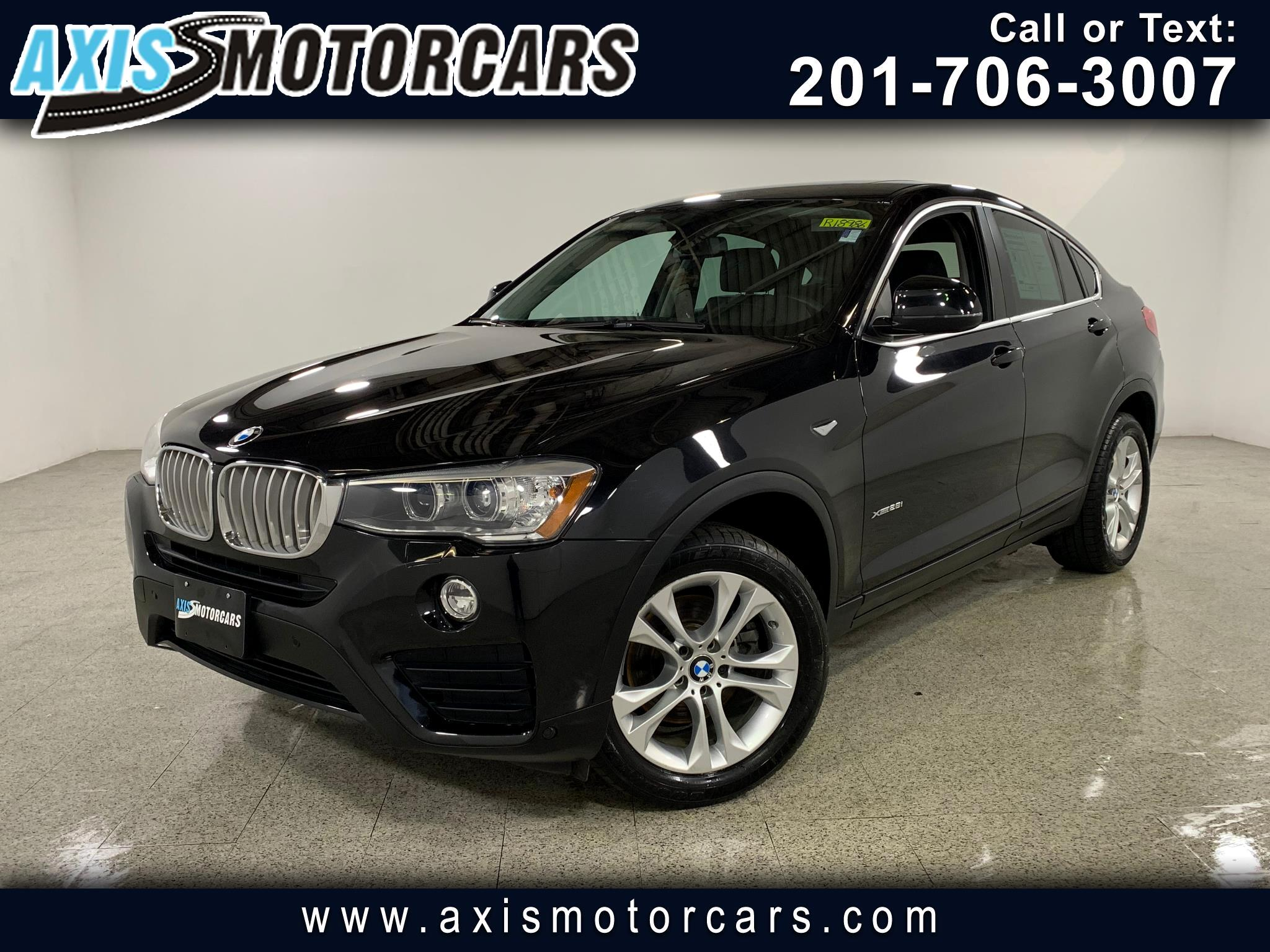 2016 BMW X4 xDrive28i w/Sunroof Navigation Backup Camera