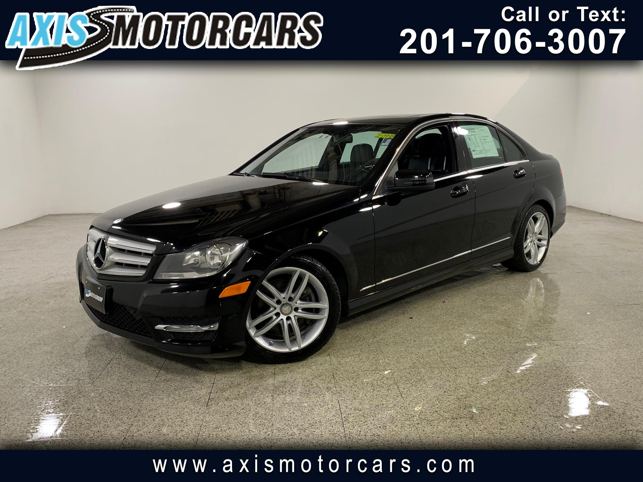 2013 Mercedes-Benz C300 w/Harman Kardon Sound System Navigation