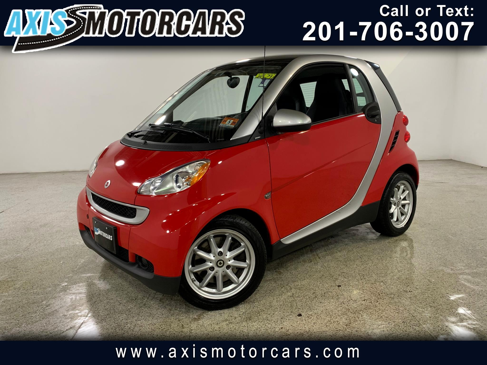 2009 smart Fortwo 2dr Cpe Pure w/Sunroof