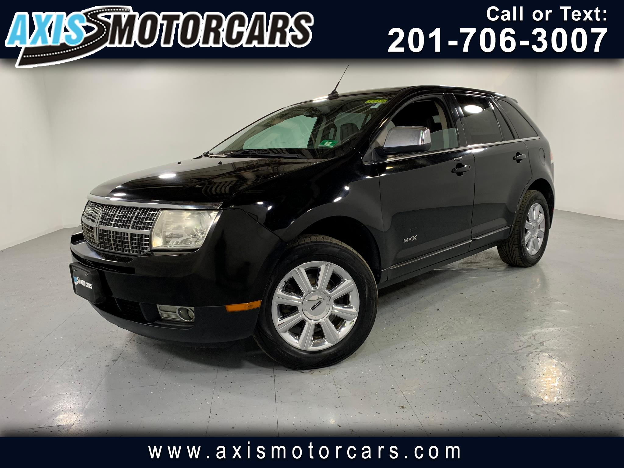 2007 Lincoln MKX w/Navigation Panoramic Roof Leather