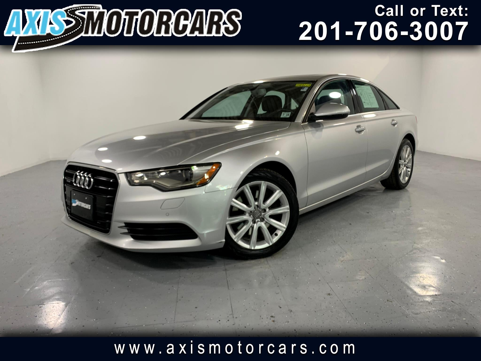 2014 Audi A6 2.0T Premium Plus w/Navigation Bakup Camera