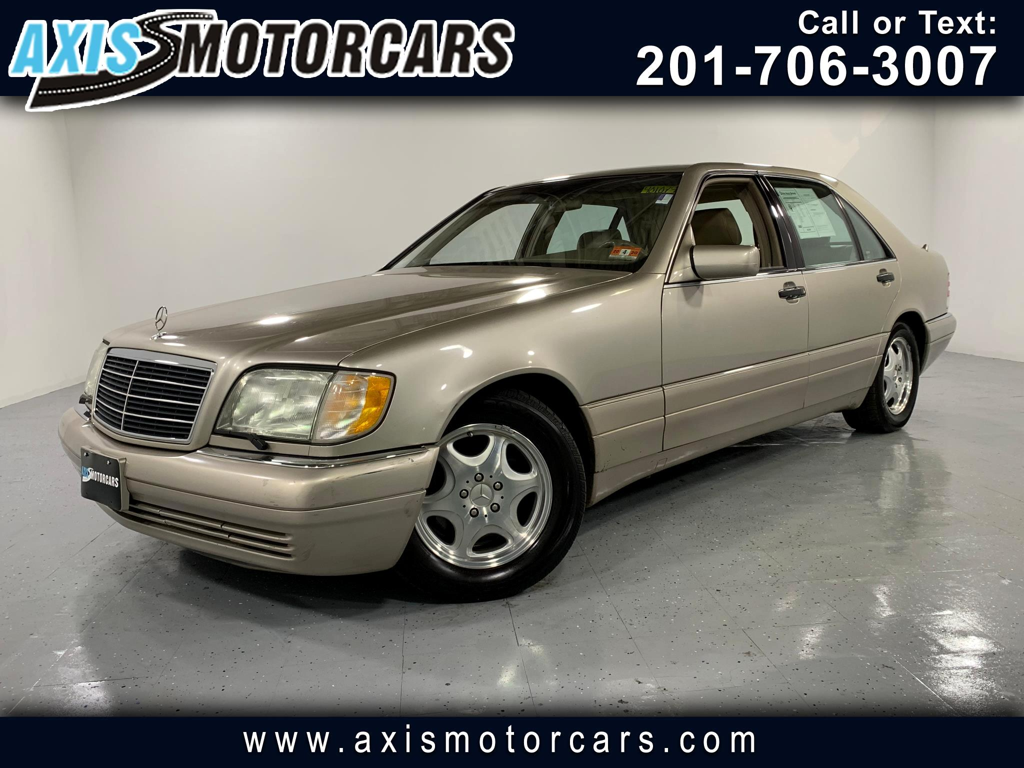 1998 Mercedes-Benz S-Class S420 w/Sunroof Leather