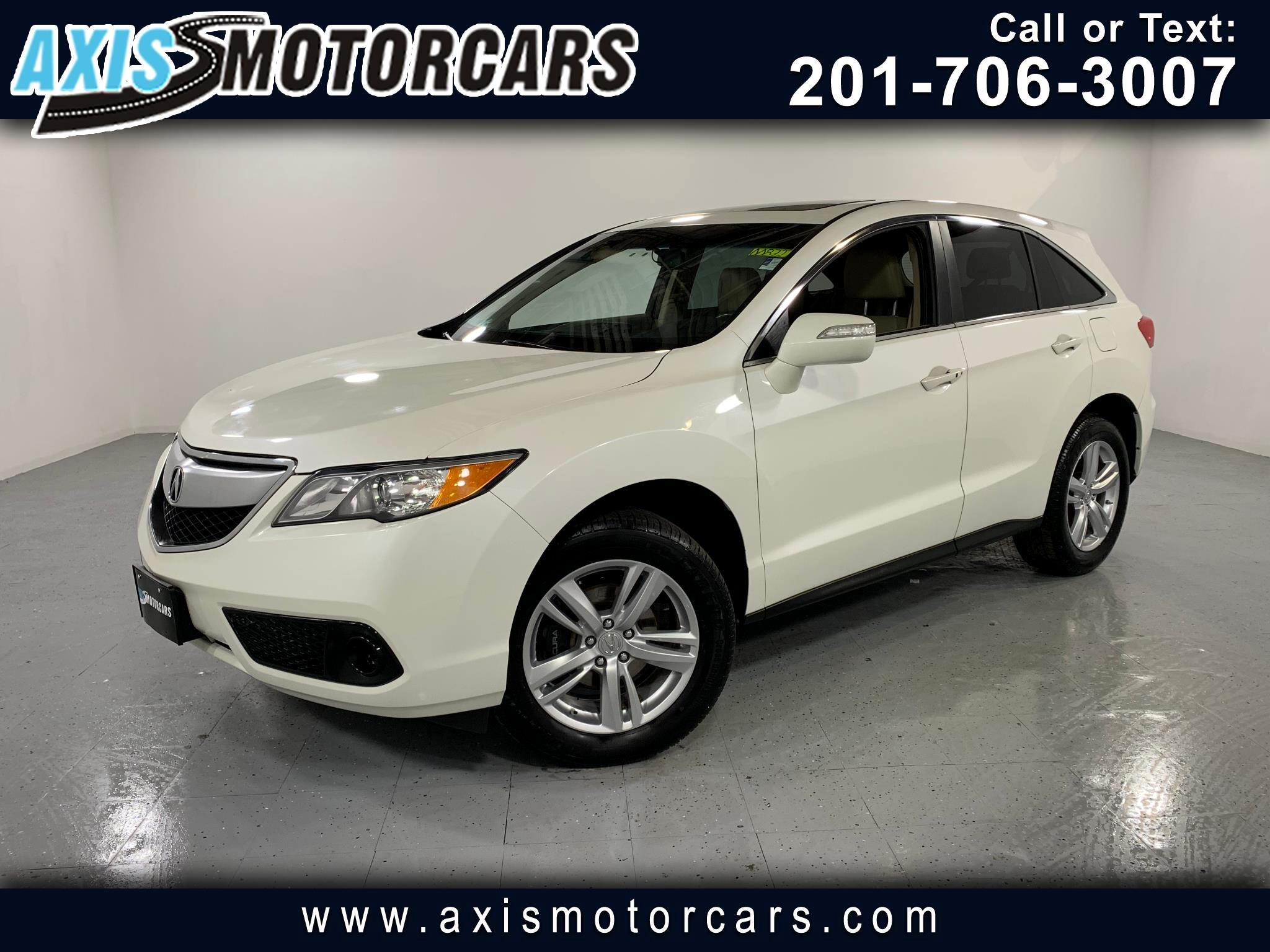 2013 Acura RDX w/Premium Audio System Backup Camera Sunroof