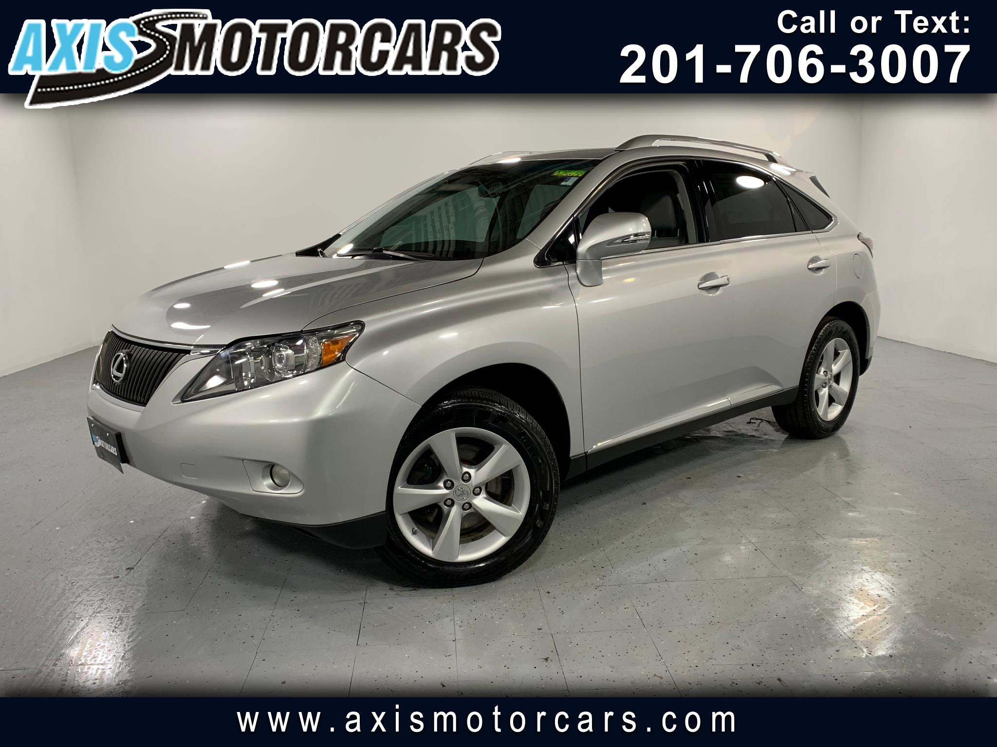 2010 Lexus RX 350 w/Bakup Camera Sunroof Leather