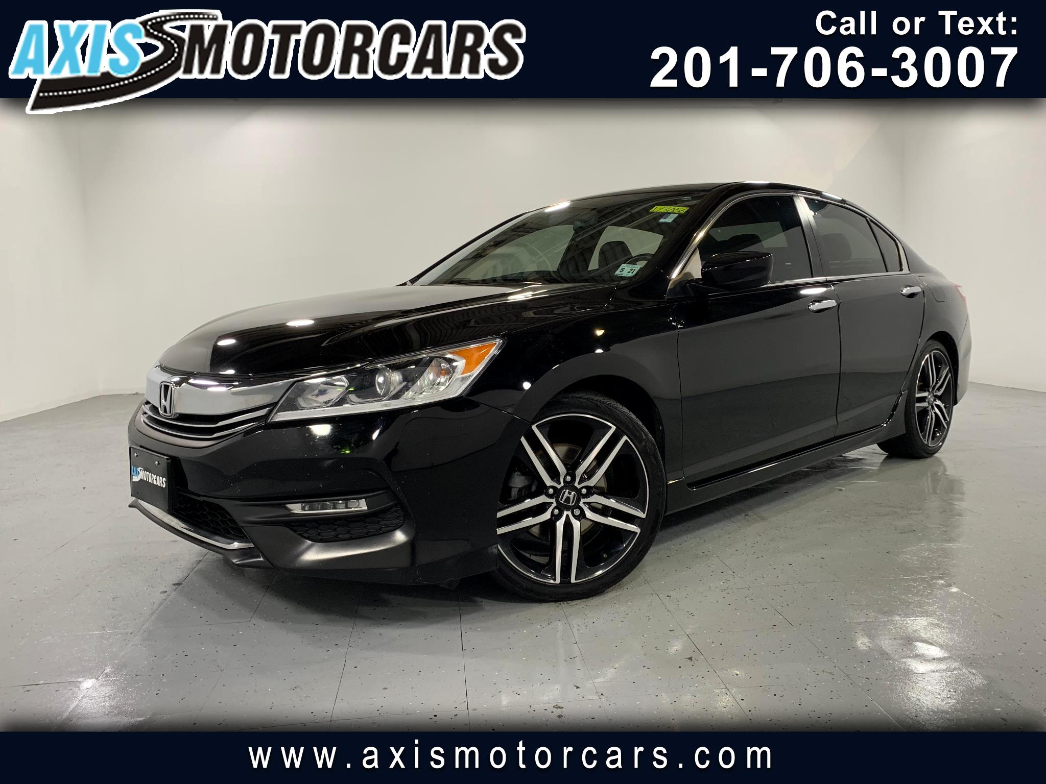 2016 Honda Accord Sport w/Bakup Camera Leather