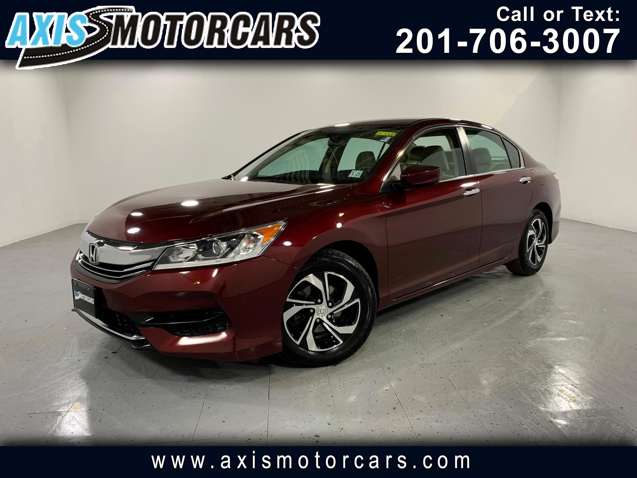 2016 Honda Accord LX w/Backup Camera