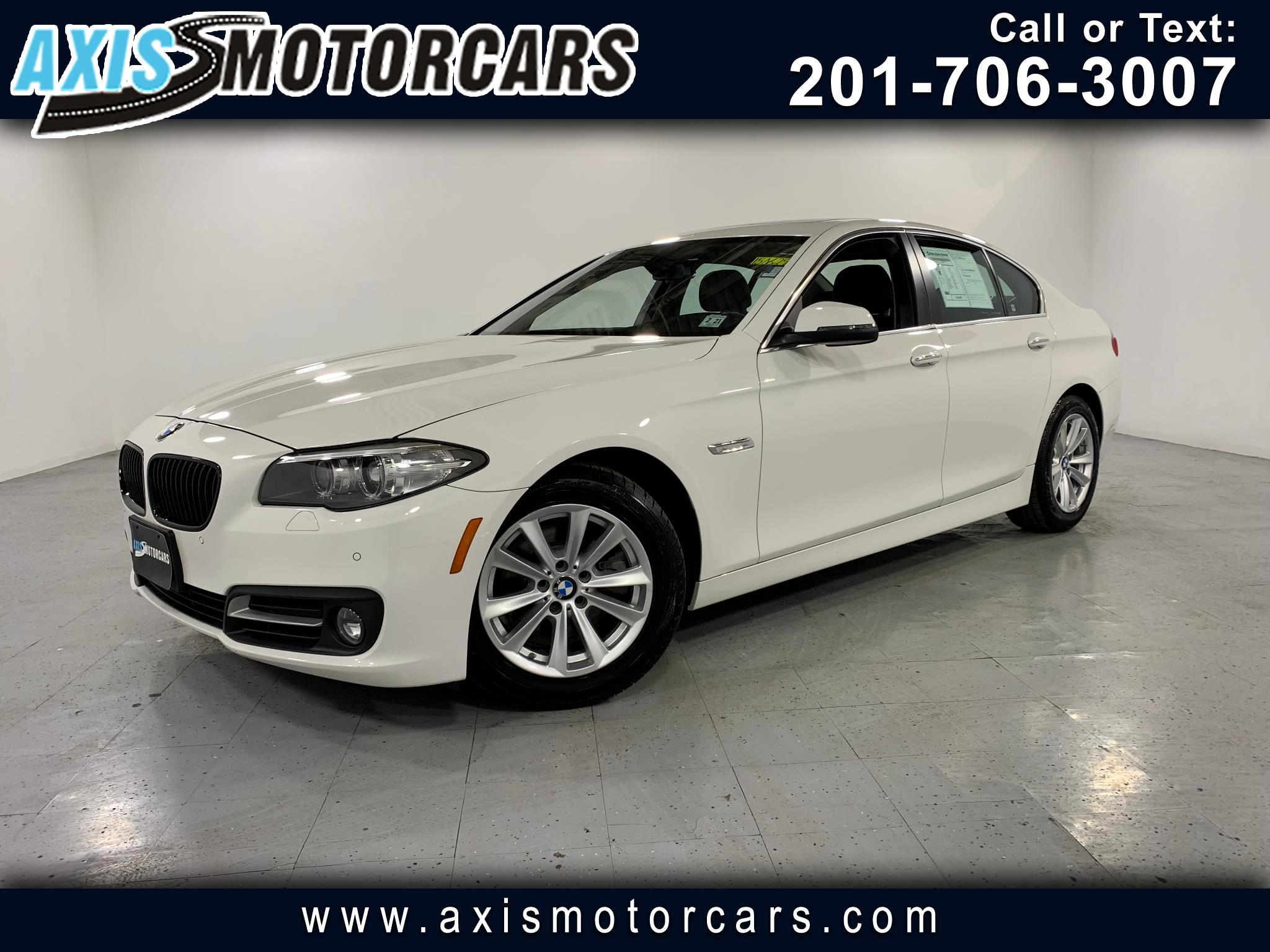 2016 BMW 528i w/Navigation Bakup Camera Sunroof