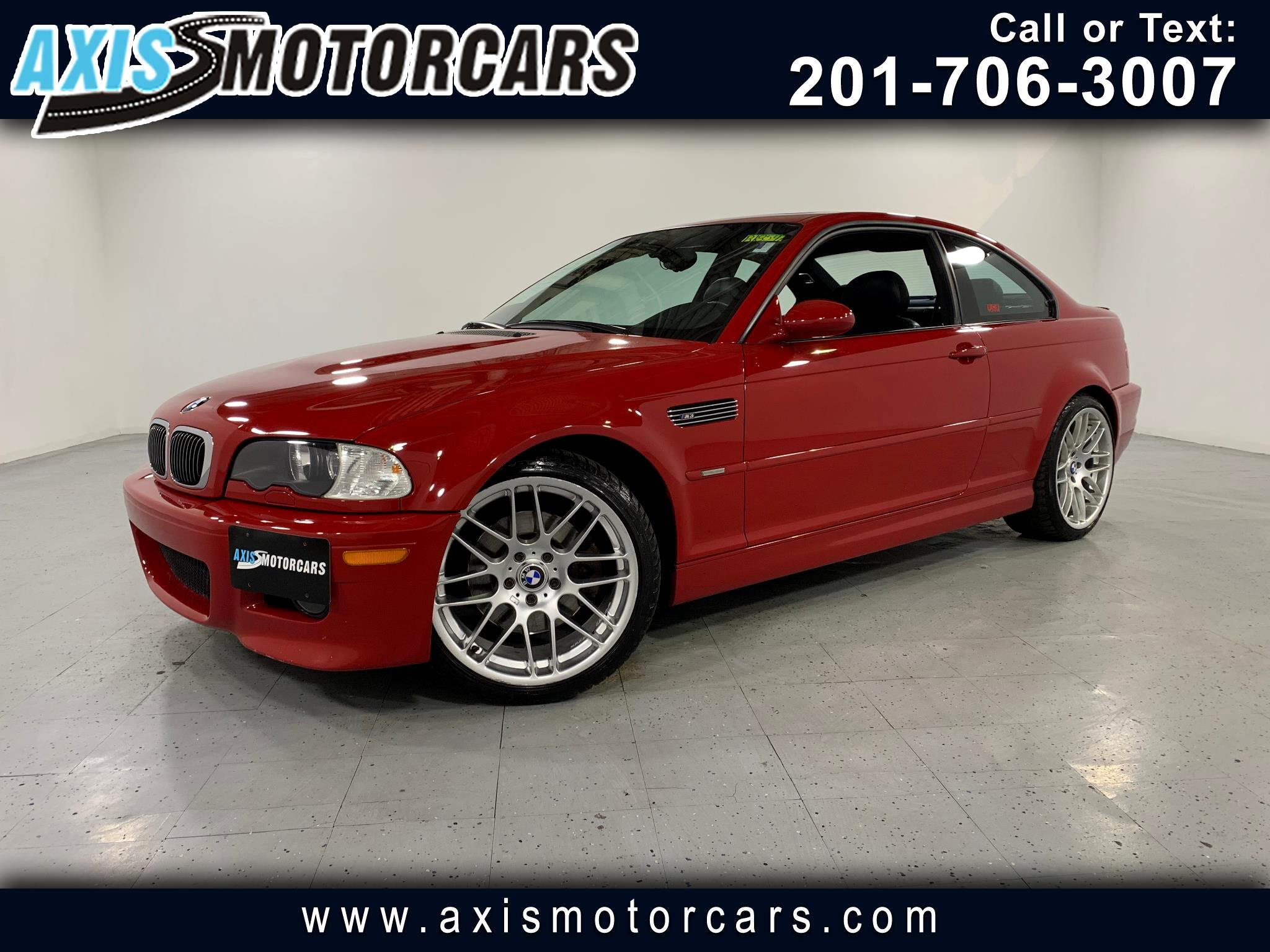 2002 BMW M3 Coupe w/Sunroof Leather
