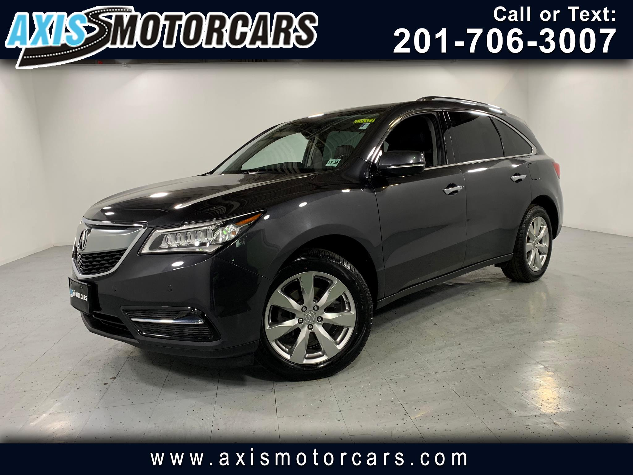 2016 Acura MDX Advance w/Navigation Bakup Camera Sunroof