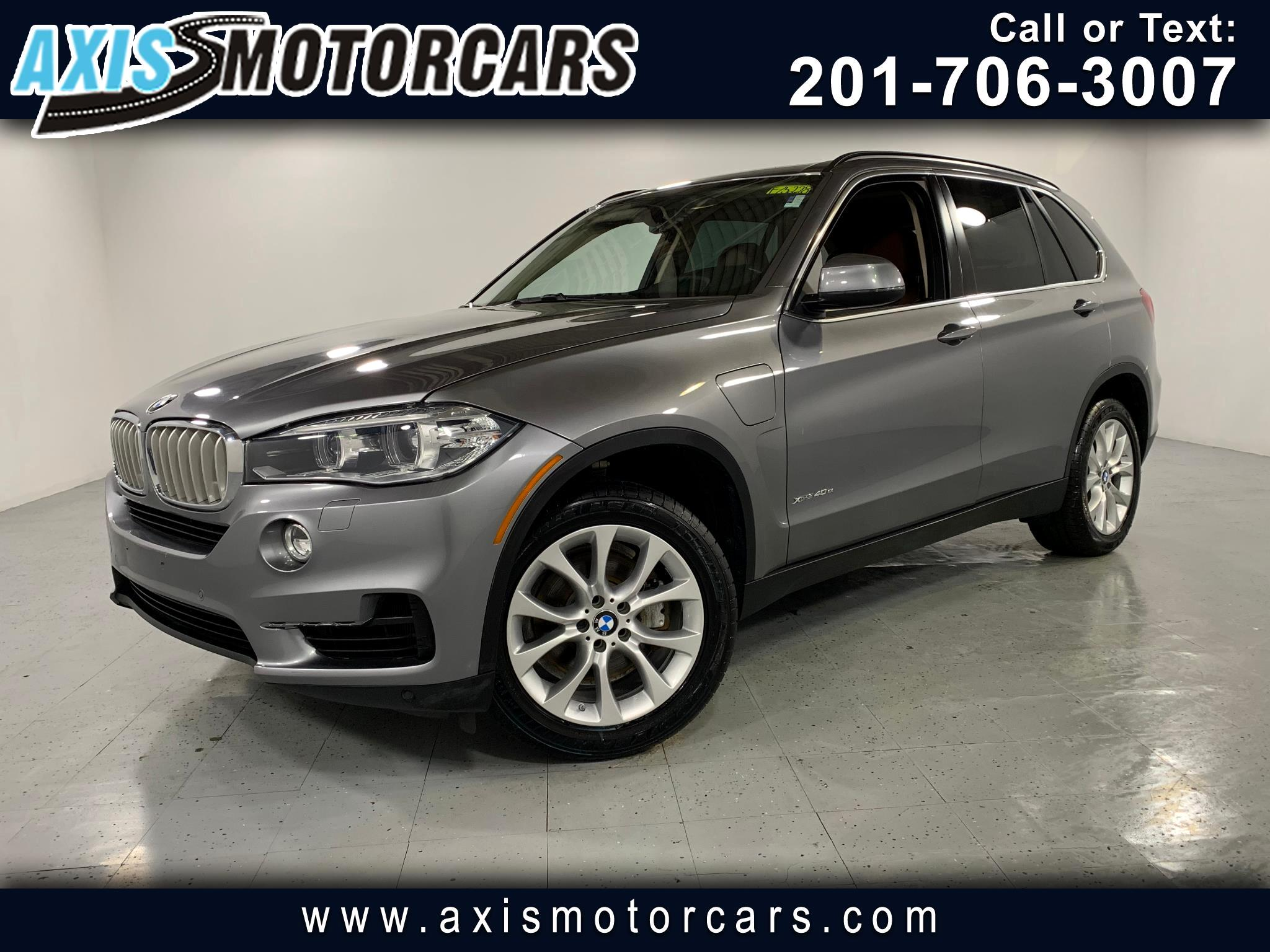 2016 BMW X5 eDrive Hybrid  xDrive40e  w/Navigation Panoramic Roof