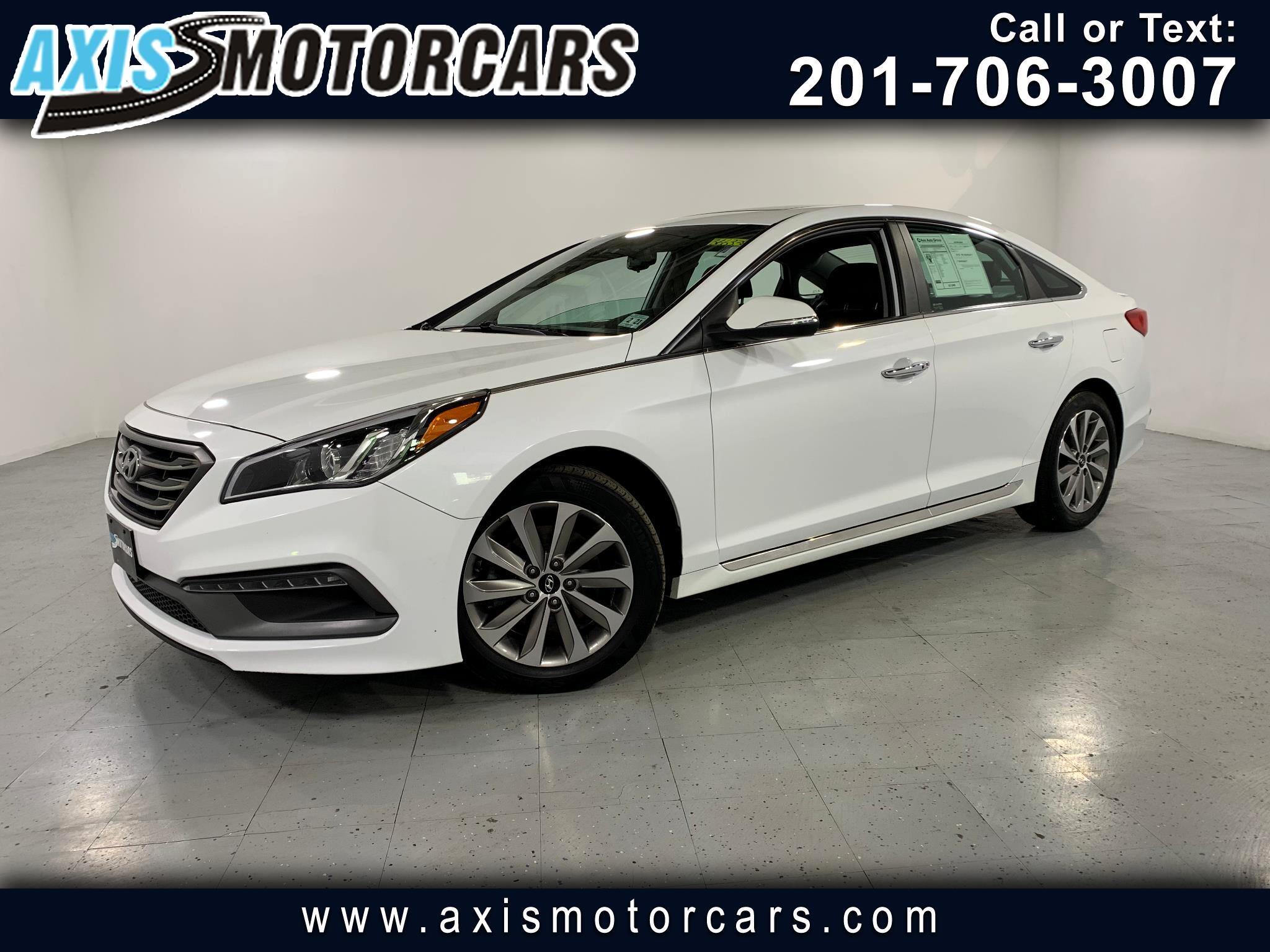 2016 Hyundai Sonata Sport w/Backup Camera Sunroof Leather