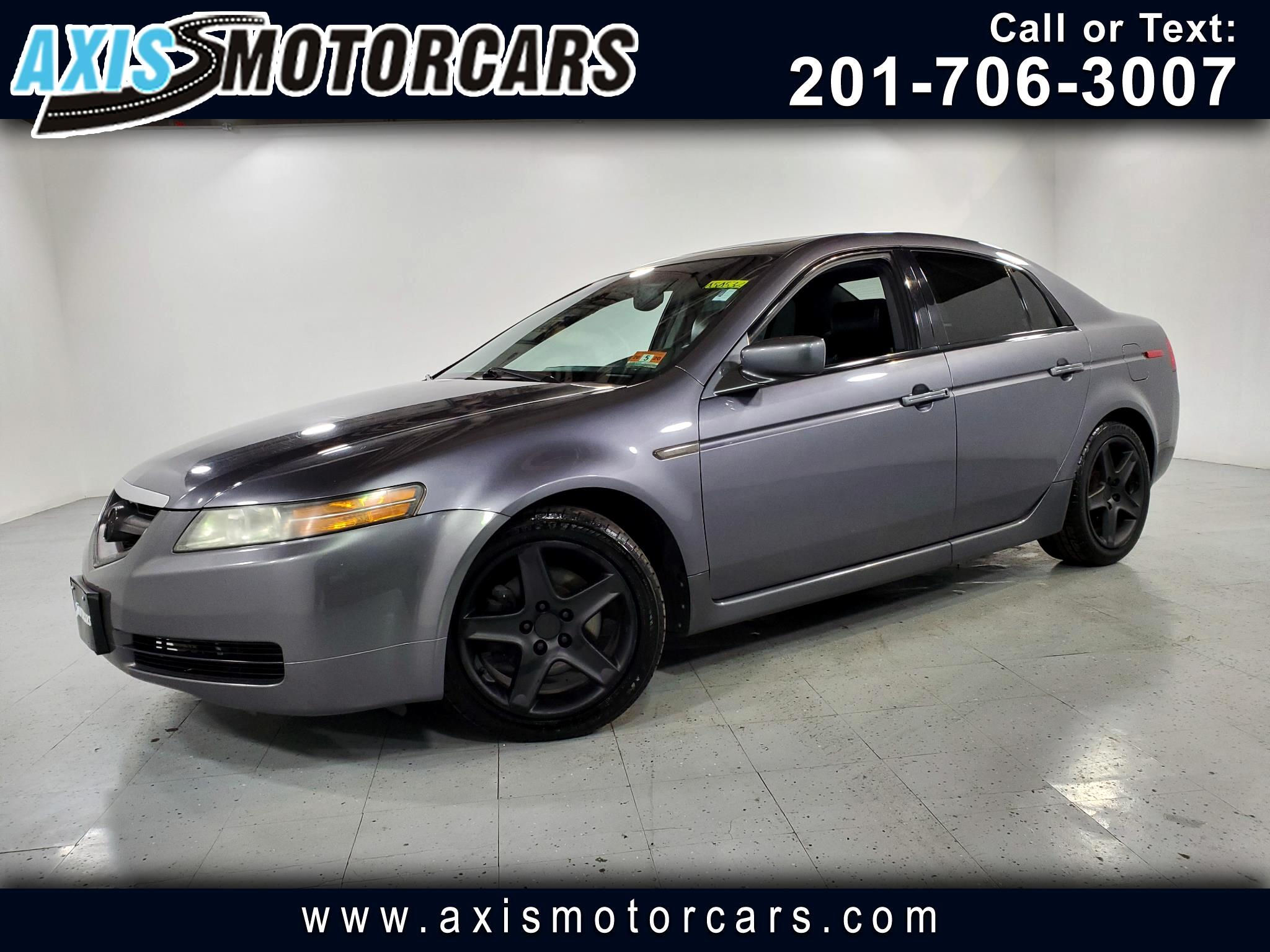 2006 Acura TL w/Sunroof Leather