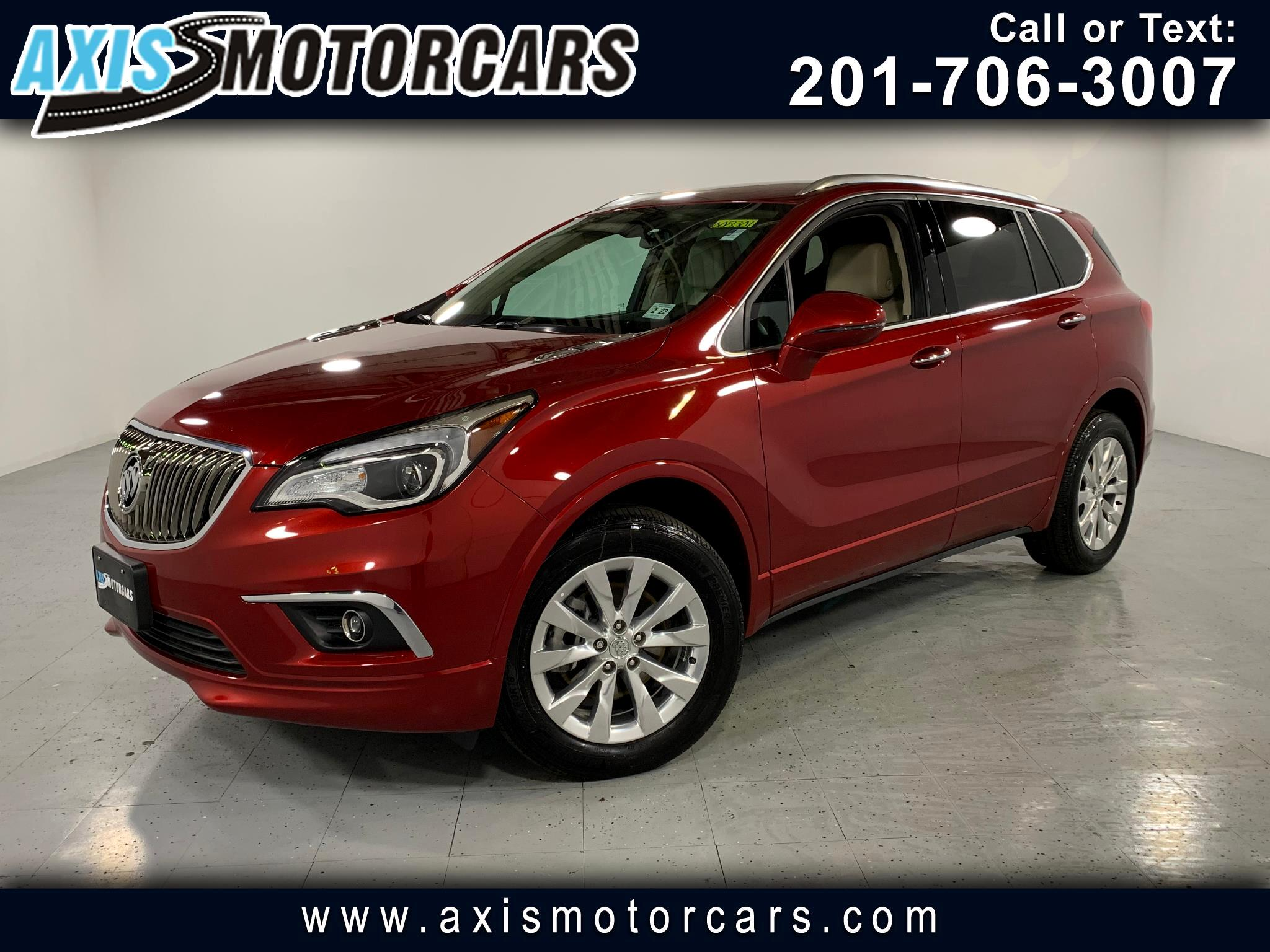 2017 Buick Envision Essence w/Navigation Bakup Camera Panoramic Roof
