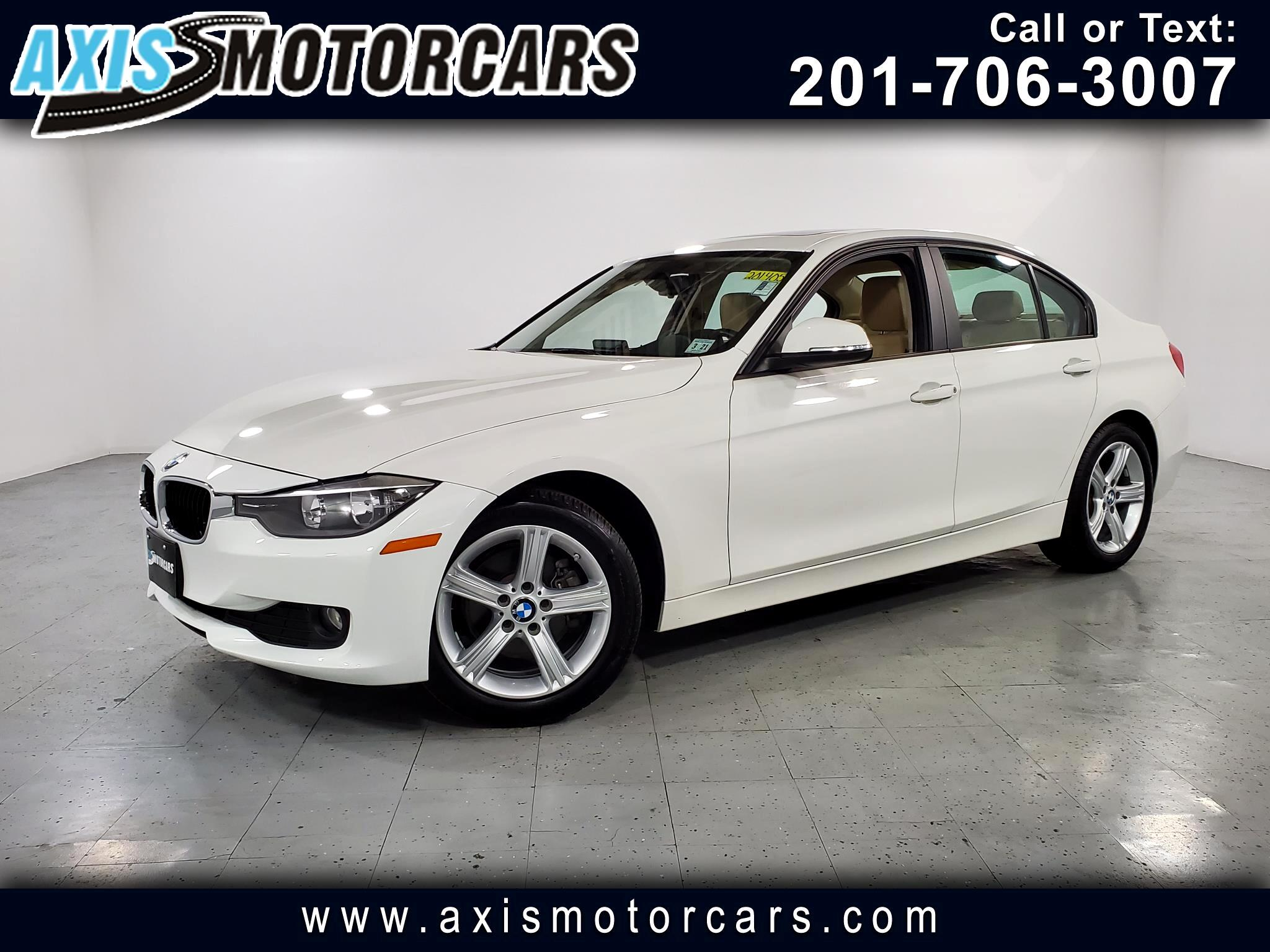 2015 BMW 320i w/Navigation Sunroof Leather