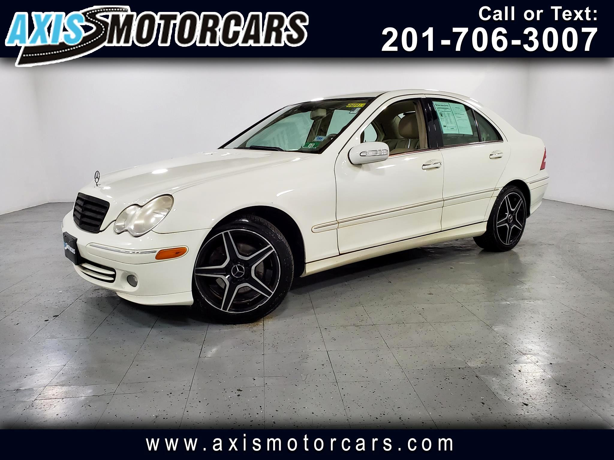 2007 Mercedes-Benz C280 4MATIC w/Sunroof Leather