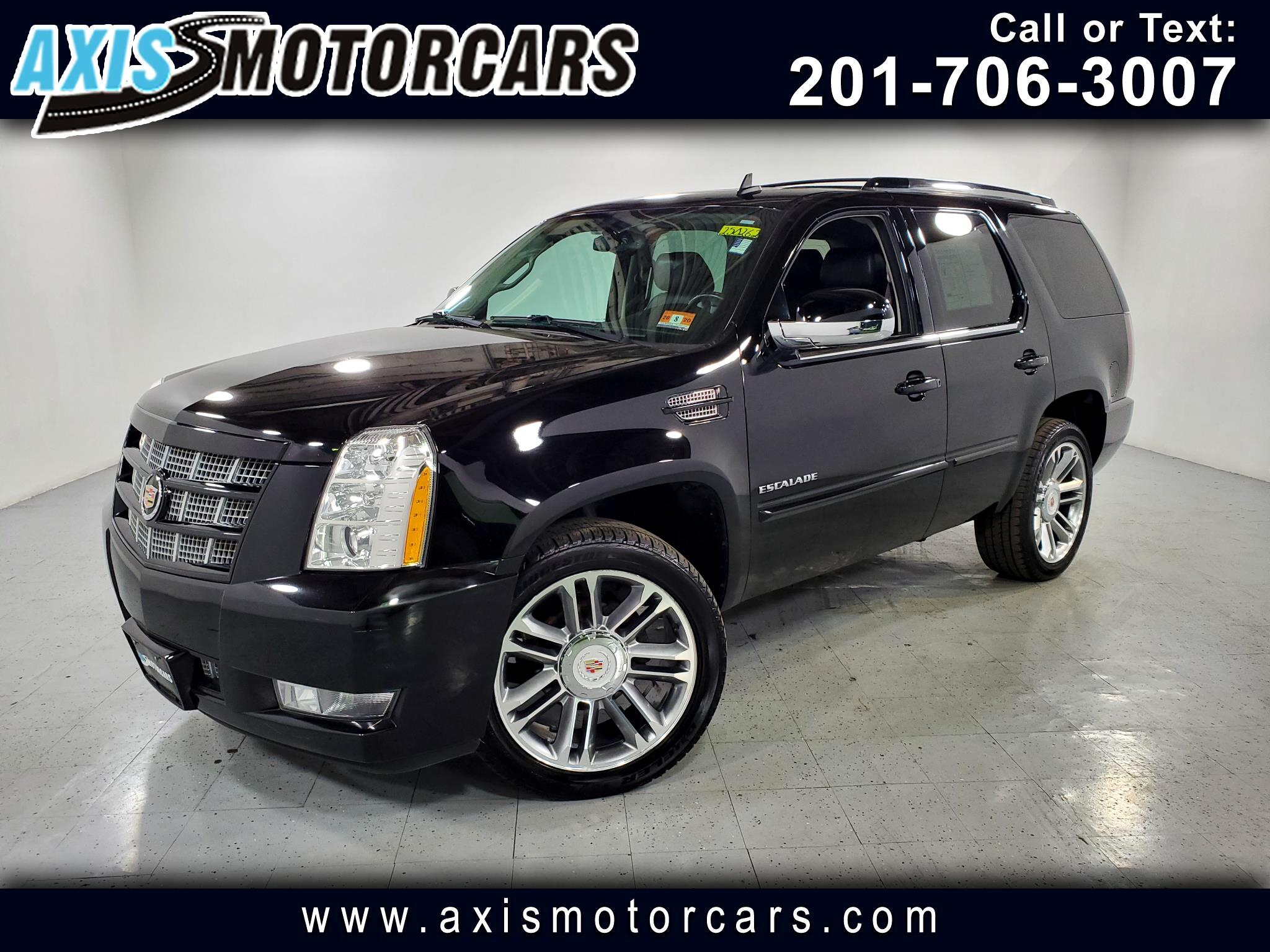 2013 Cadillac Escalade Premium w/Rear Entertainment Bose Sound System