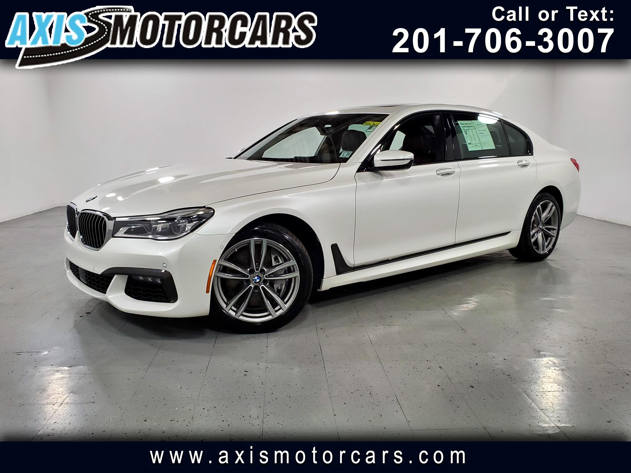 2016 BMW 750i M PKG w/Harman Kardon Sound System Panoramic Roof