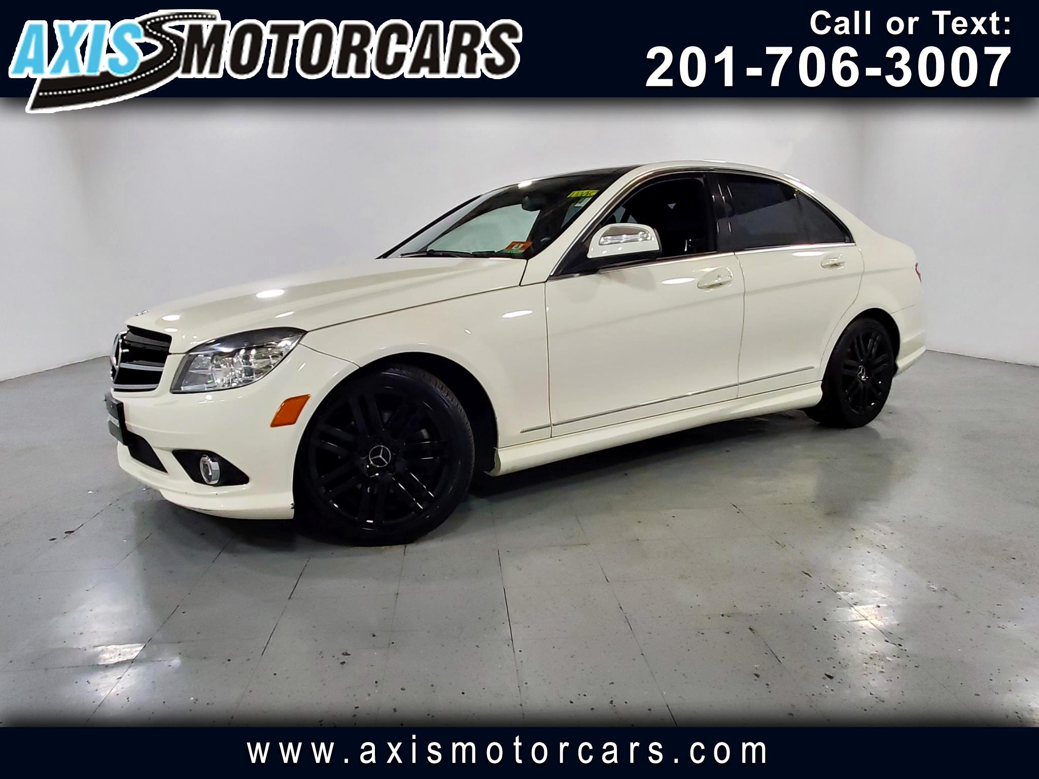 2008 Mercedes-Benz C300 w/Panoramic Roof Leather Navigation