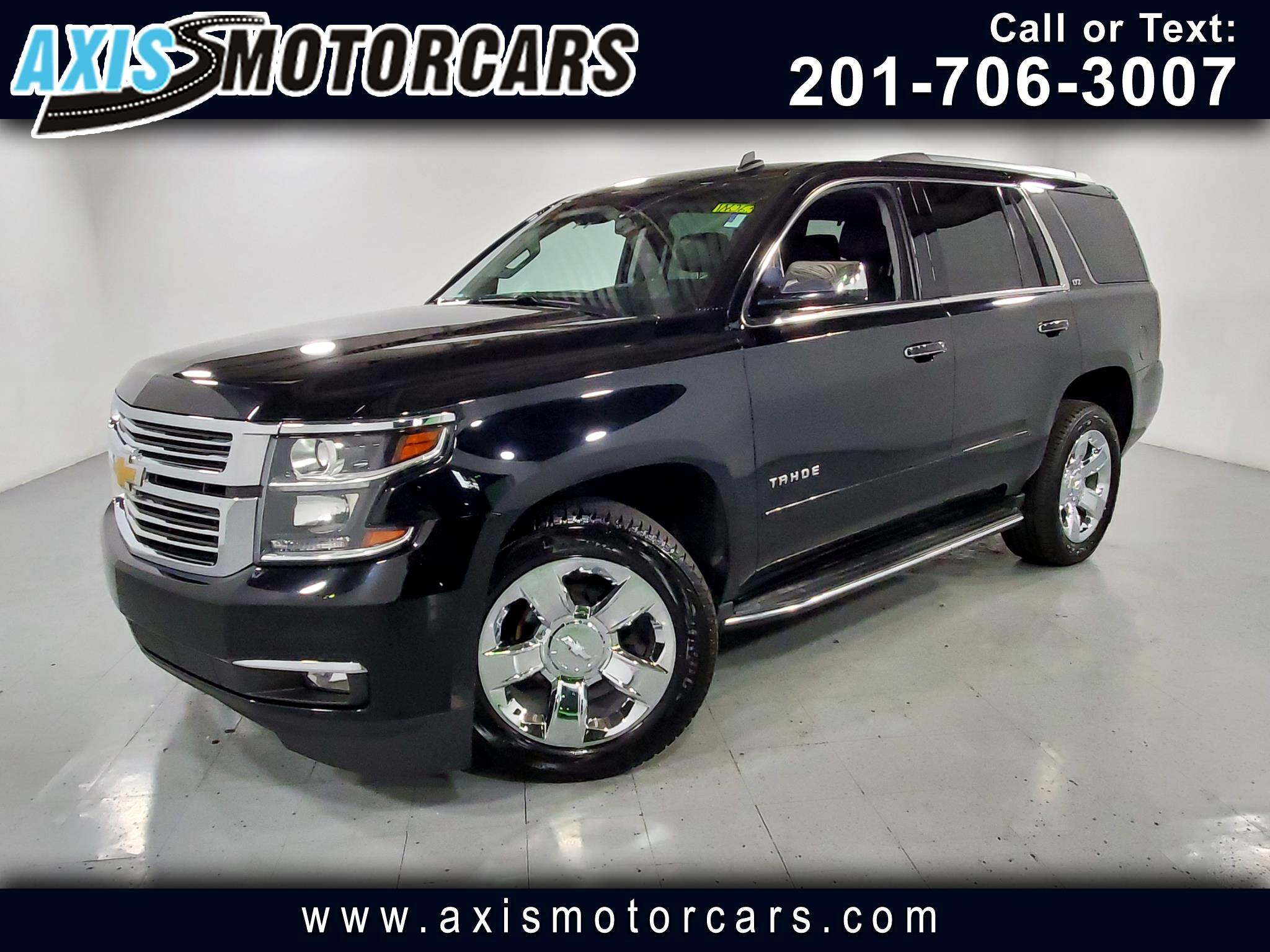 2015 Chevrolet Tahoe LTZ w/Bose Sound Rear Entertainment Navigation