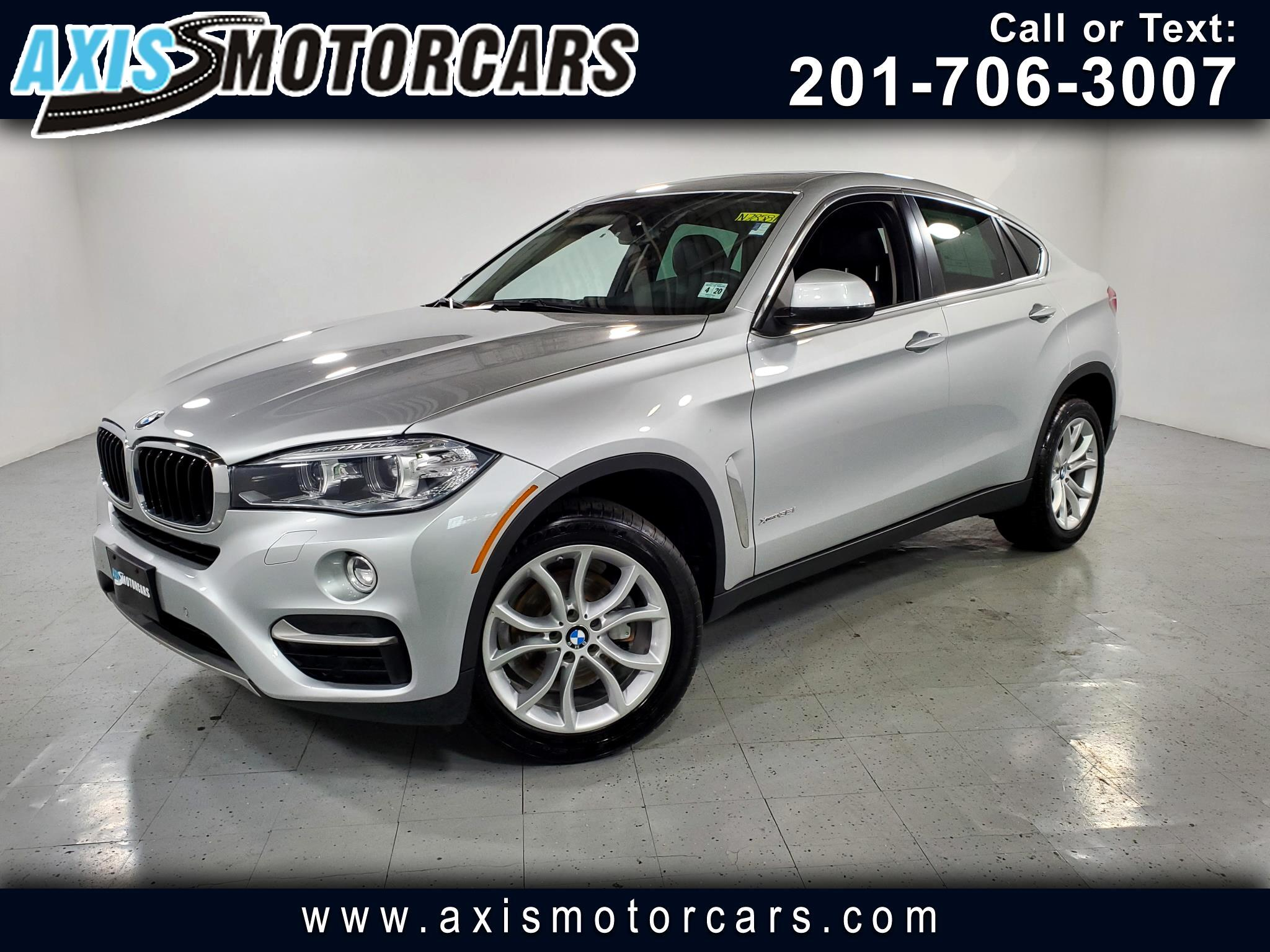 2016 BMW X6 xDrive35i w/Navigation Backup Camera Sunroof