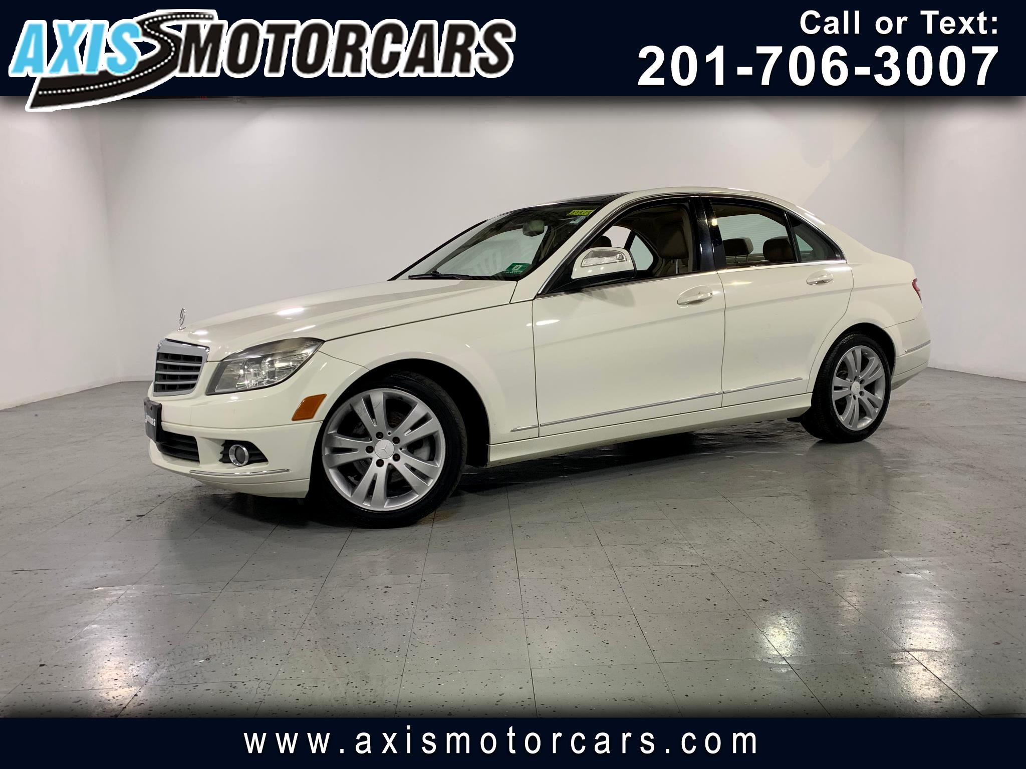 2009 Mercedes-Benz C300 w/Harman Kardon Sound System Sunroof Leather