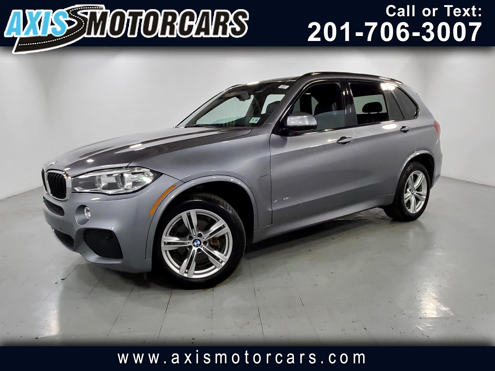 2014 BMW X5 M PKG w/Panoramic Roof Navigation Backup Camera