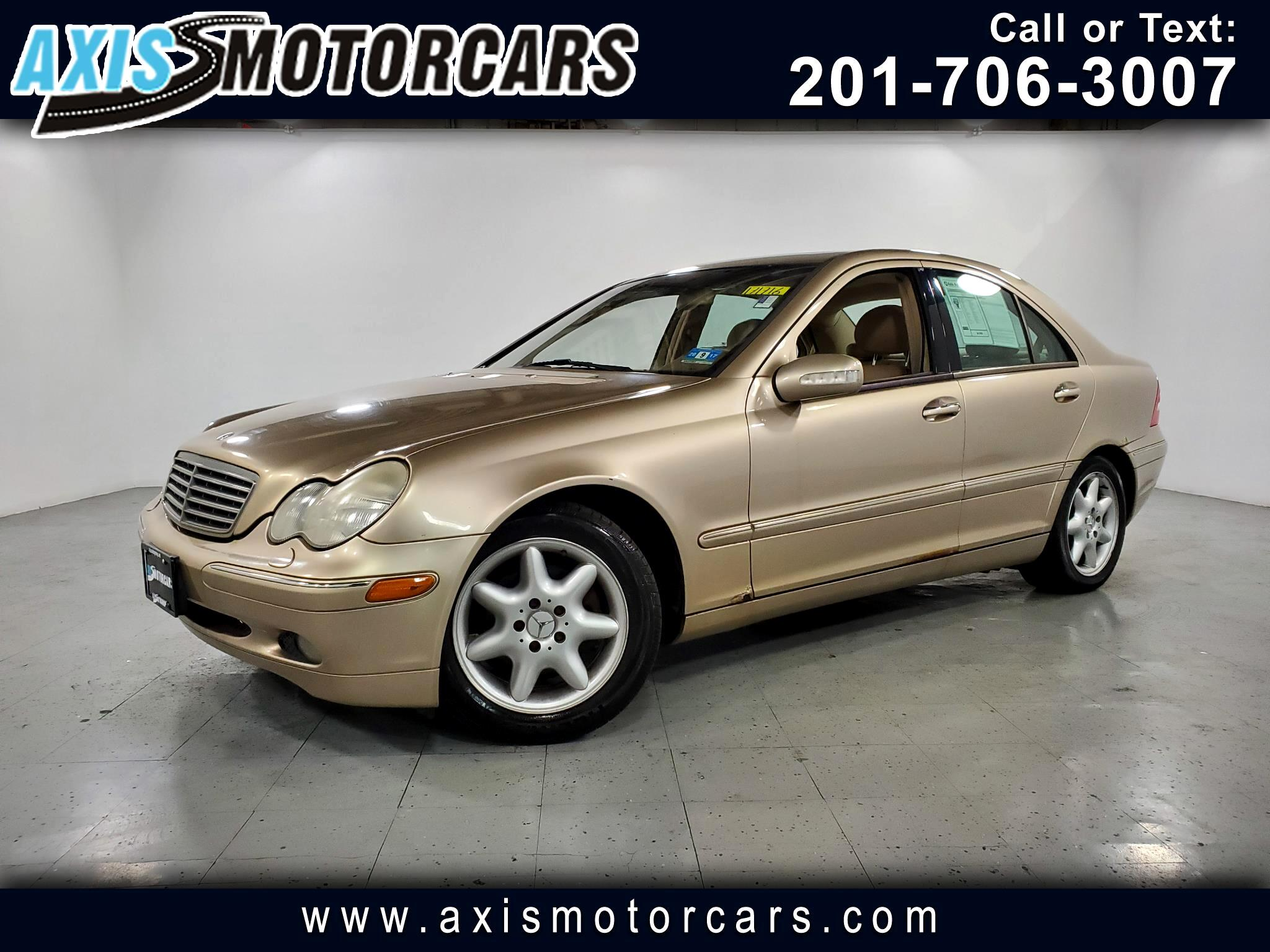 2002 Mercedes-Benz C-Class C240 w/Sunroof Leather
