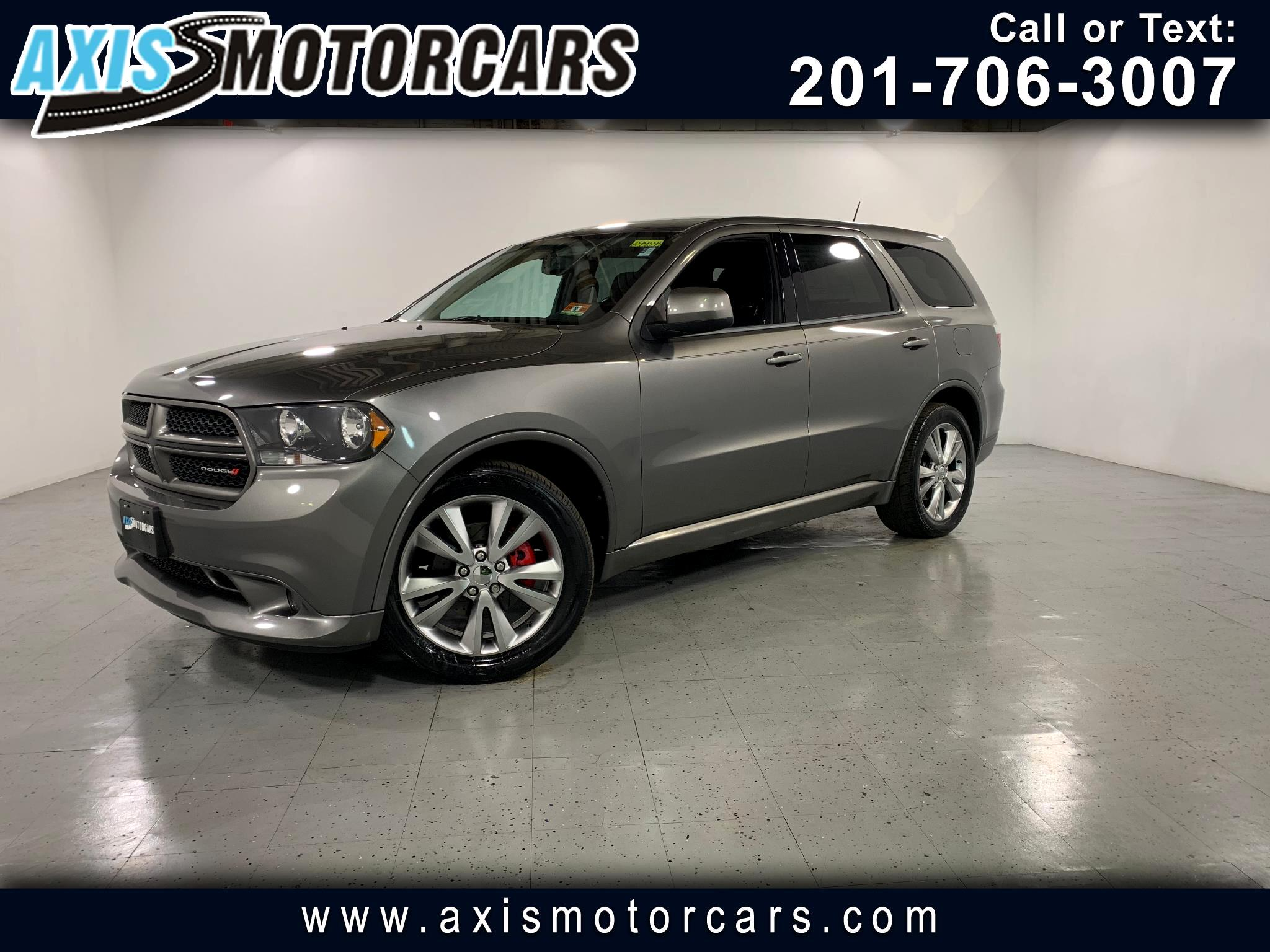 2011 Dodge Durango Heat w/Backup Camera Sunroof
