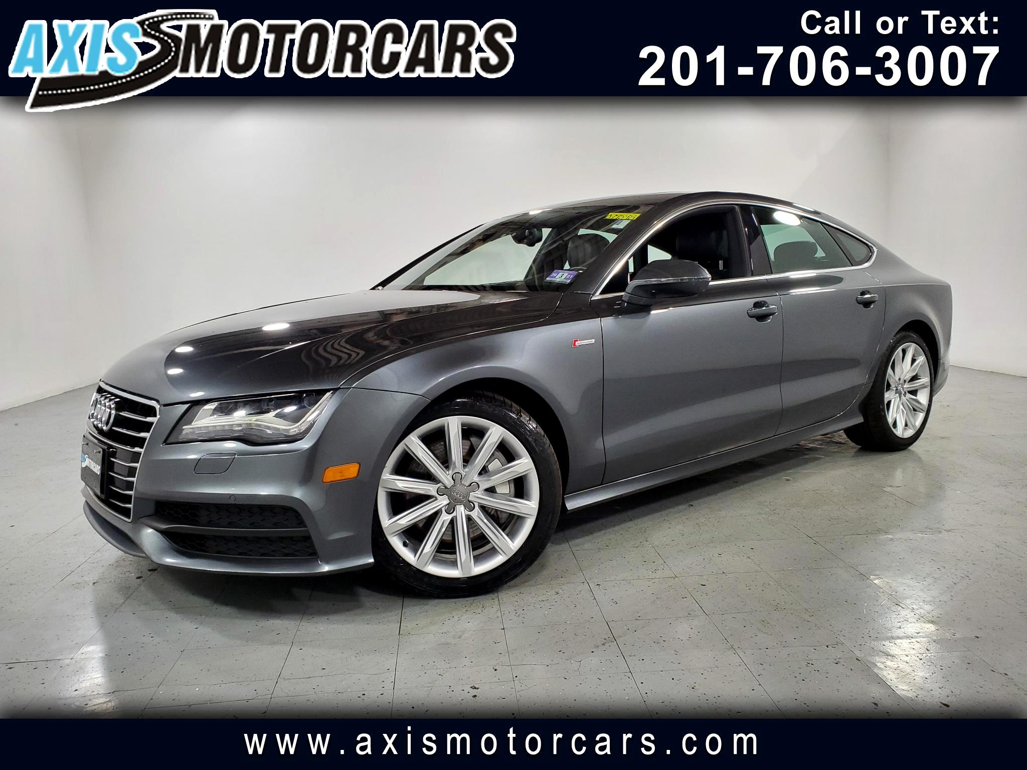 2014 Audi A7 3.0 Prestige w/Navigation Backup Camera Sunroof