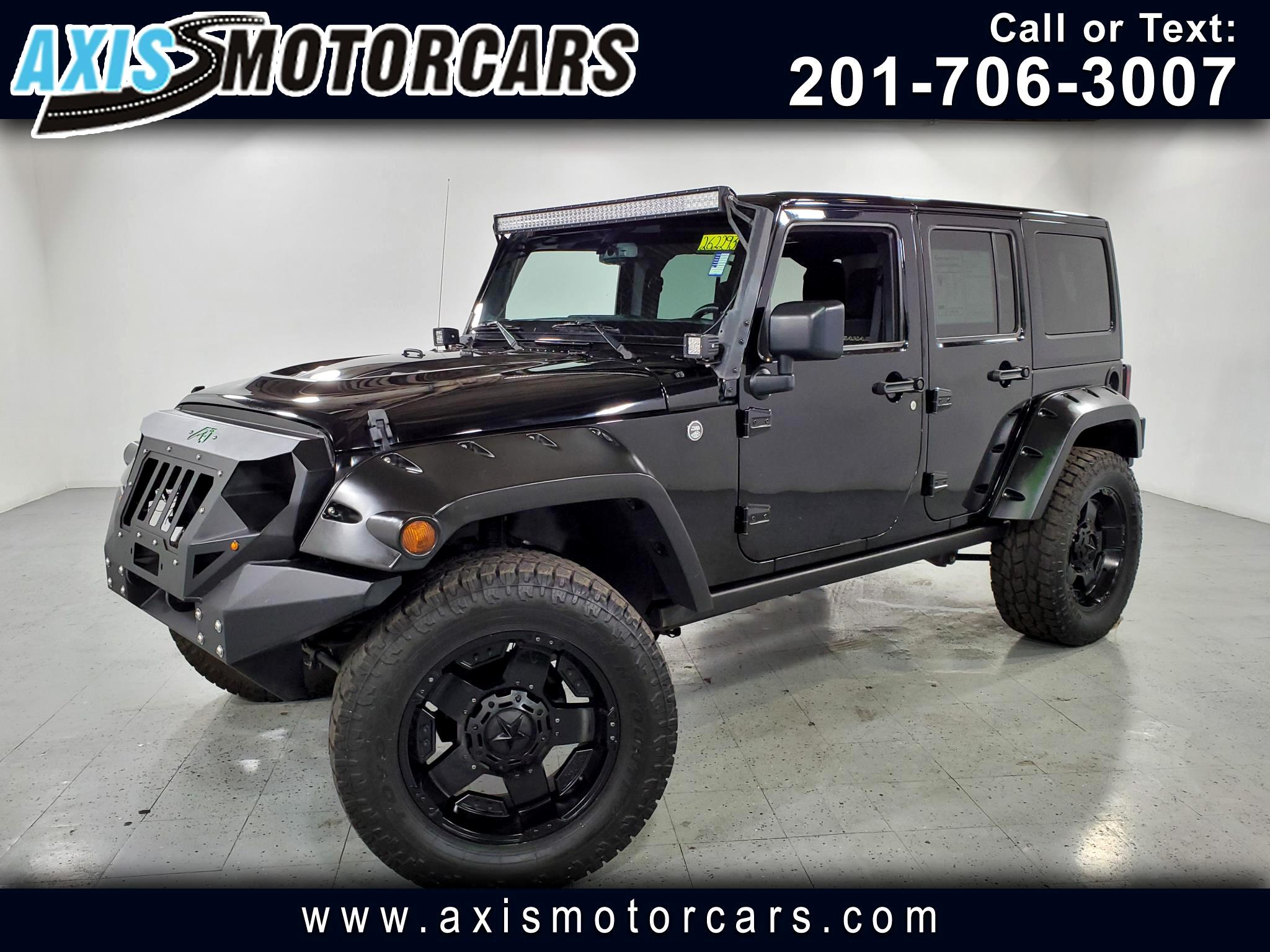2016 Jeep Wrangler Unlimited 4dr Sahara w/Navigation