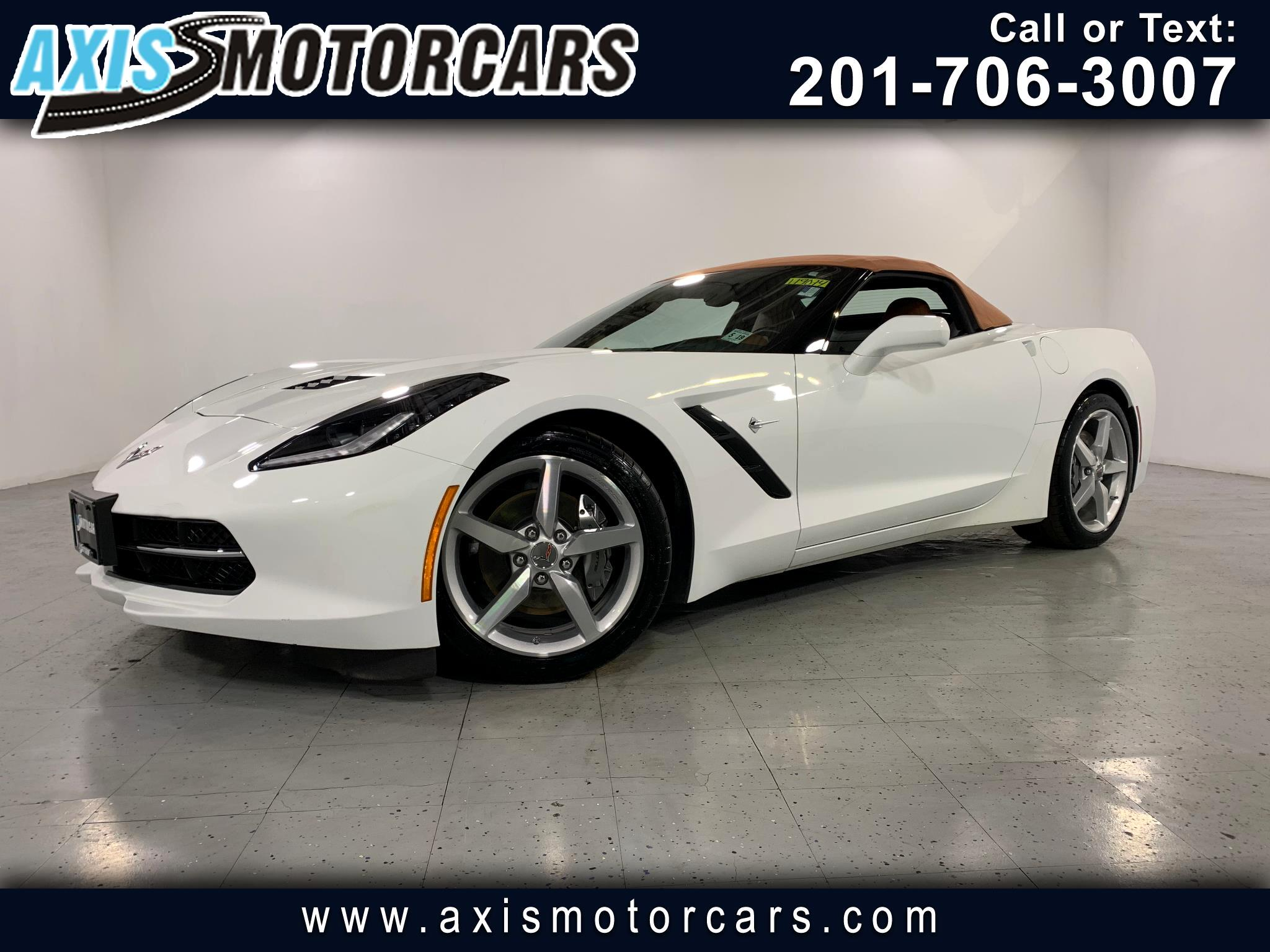 2014 Chevrolet Corvette Stingray 2dr Conv w/3LT