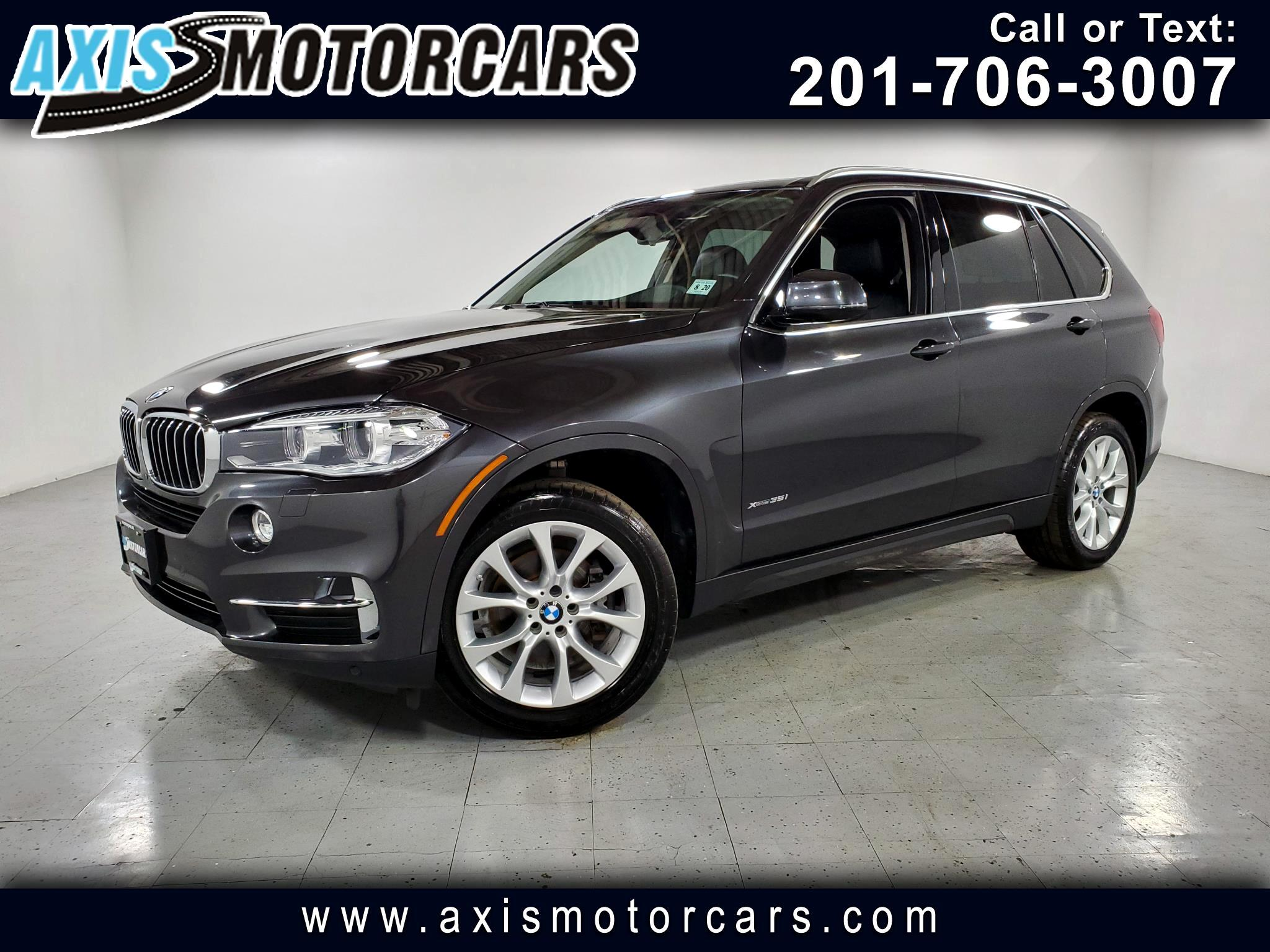 2015 BMW X5 XDrive 35i w/Premium Sound System Backup Camera Panoramic