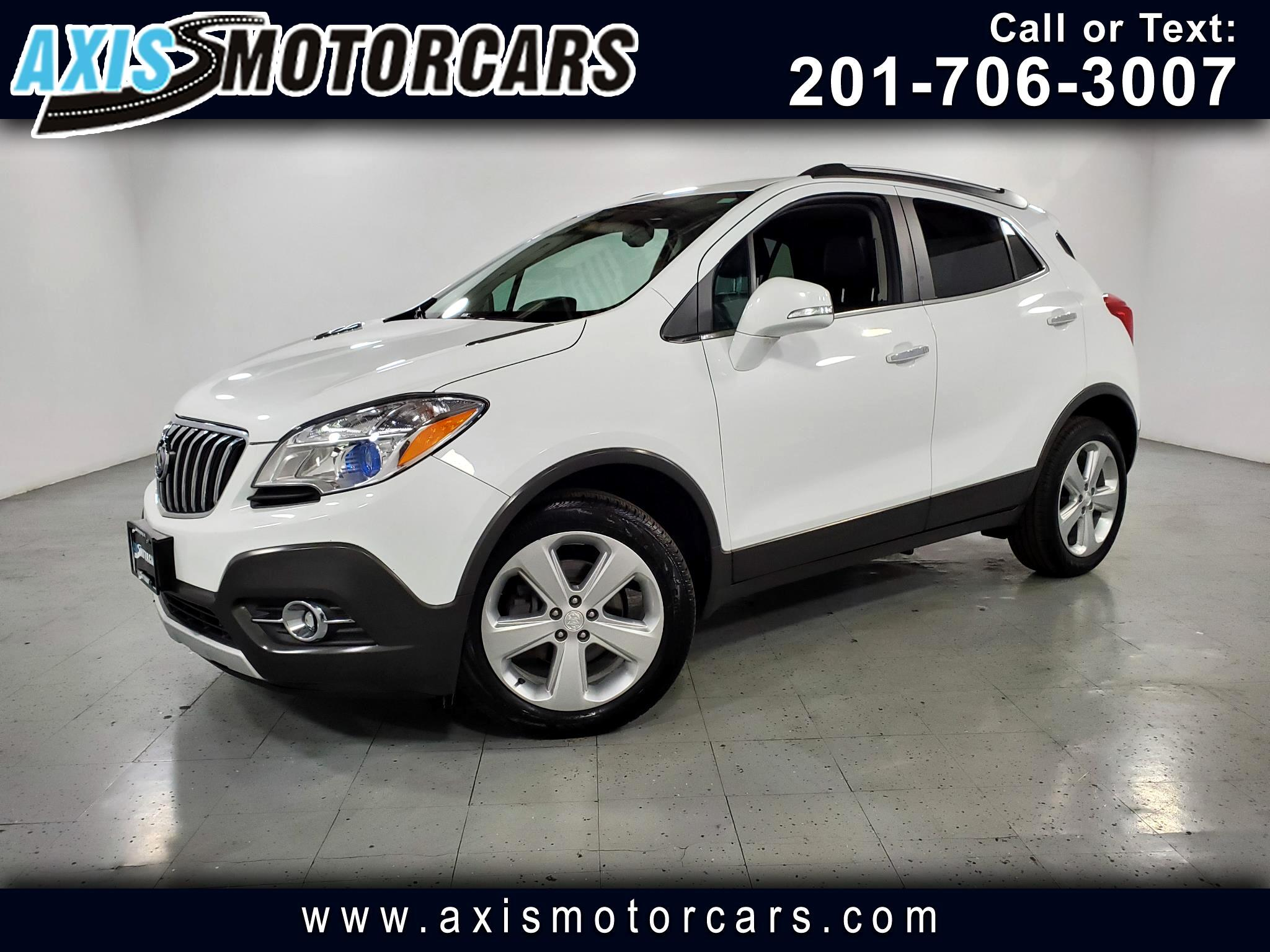 2016 Buick Encore AWD 4dr Leather