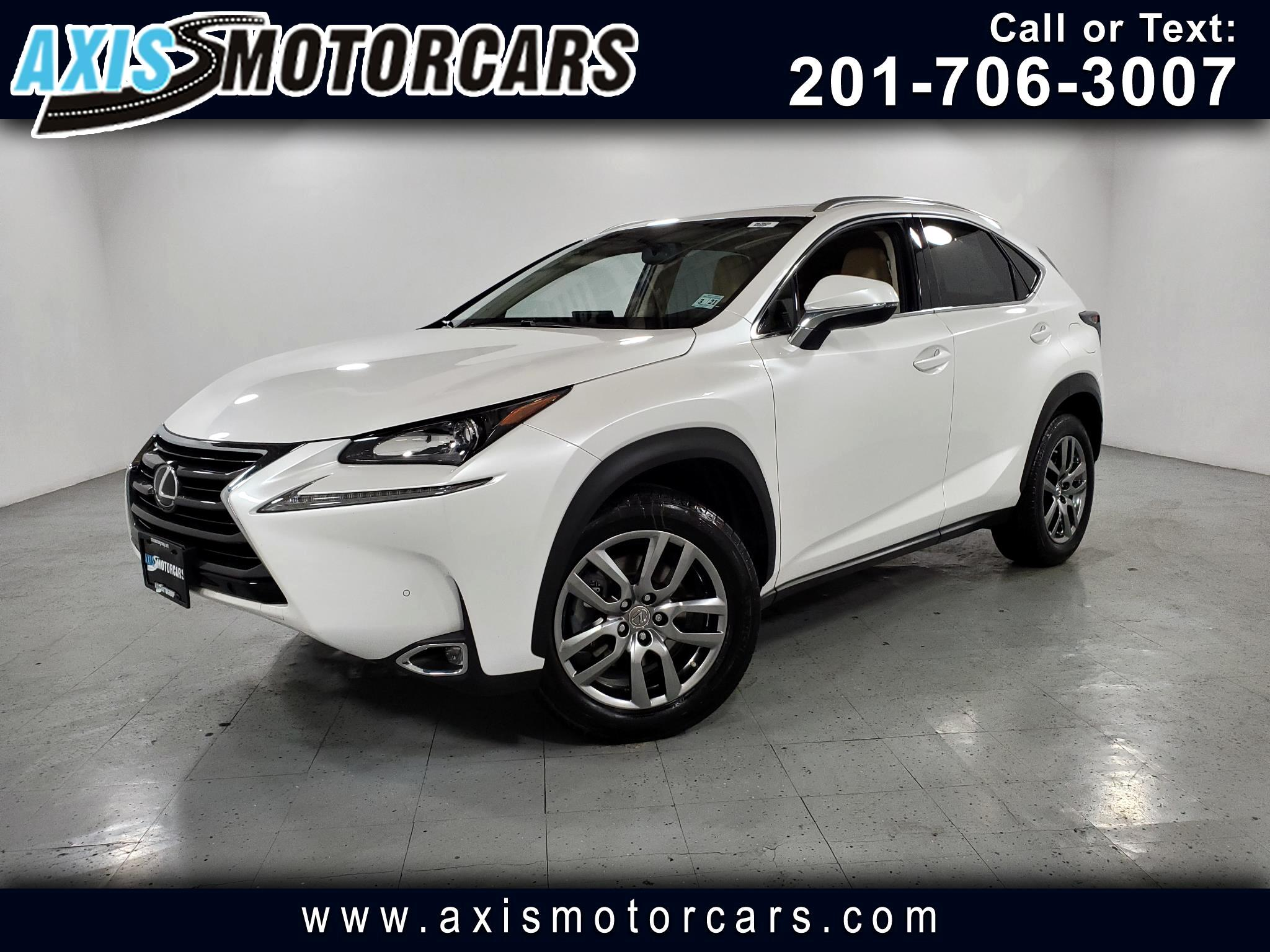 2016 Lexus NX 200t AWD w/Backup Camera Navigation Sunroof