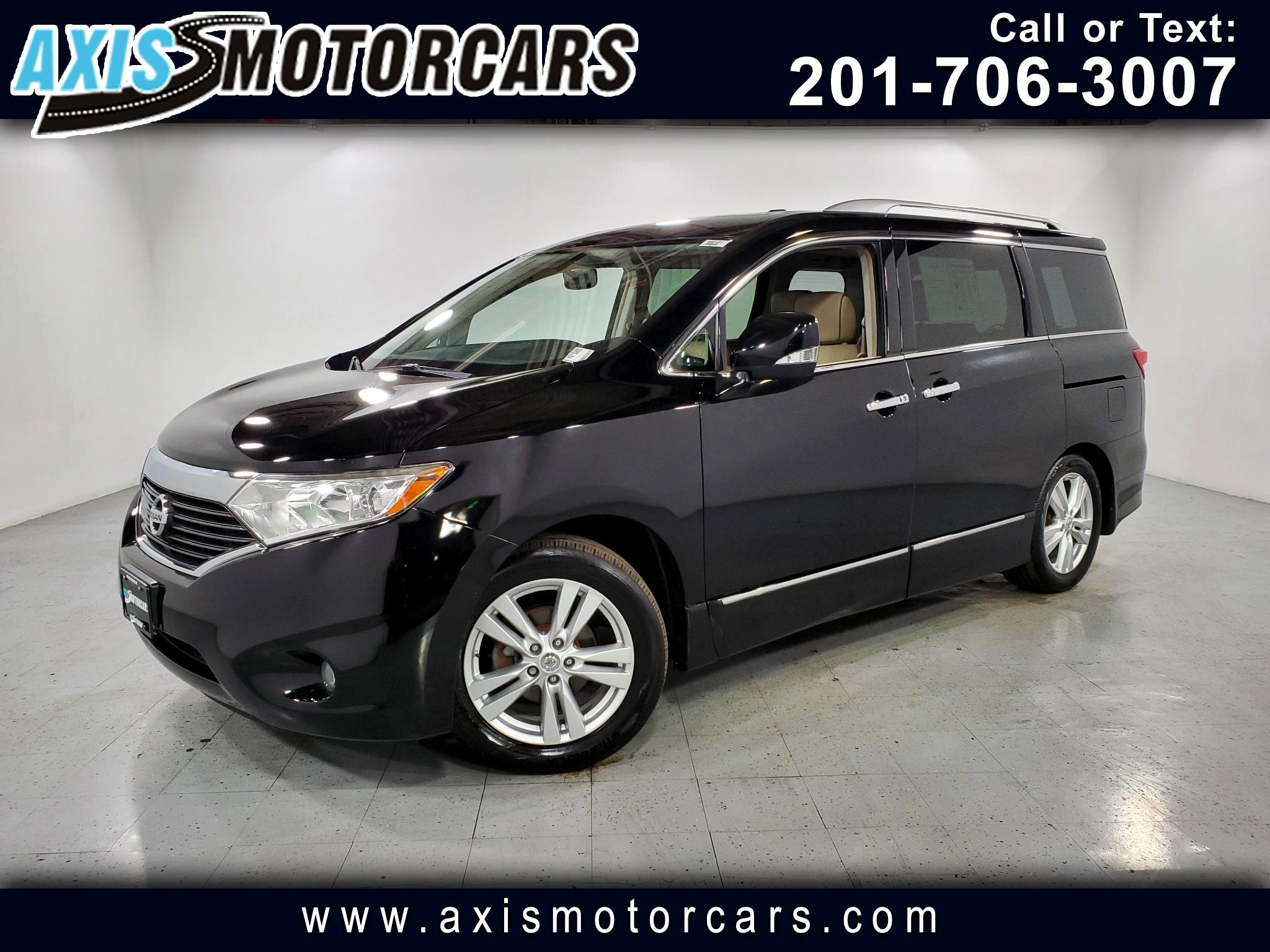 2012 Nissan Quest SL w/Bakup Camera Sunroof Leather