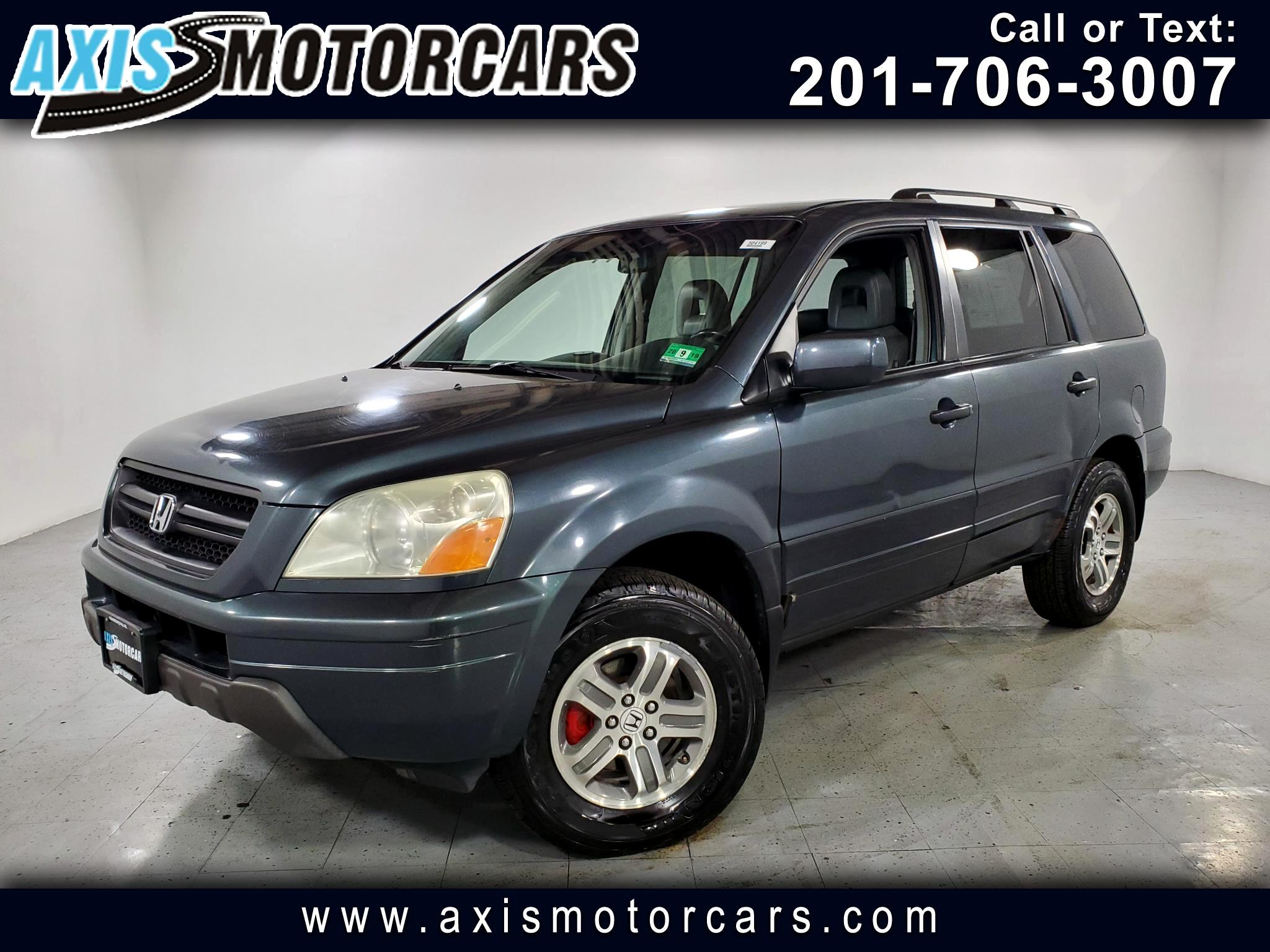 2004 Honda Pilot w/Leather Rear Entertainment System 3rd Seat Row
