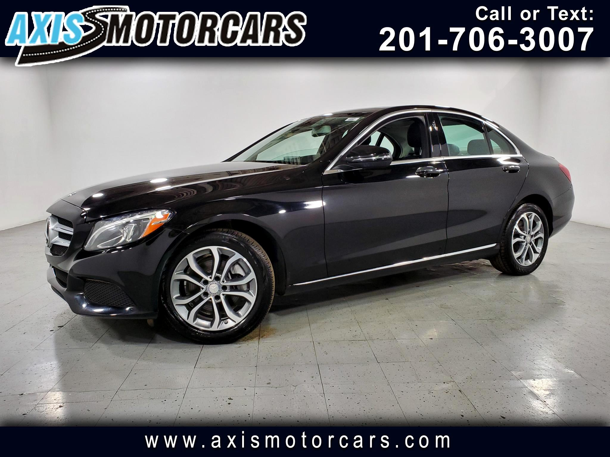 2016 Mercedes-Benz C300 w/Panoramic Roof Burmester Sound System Navigation