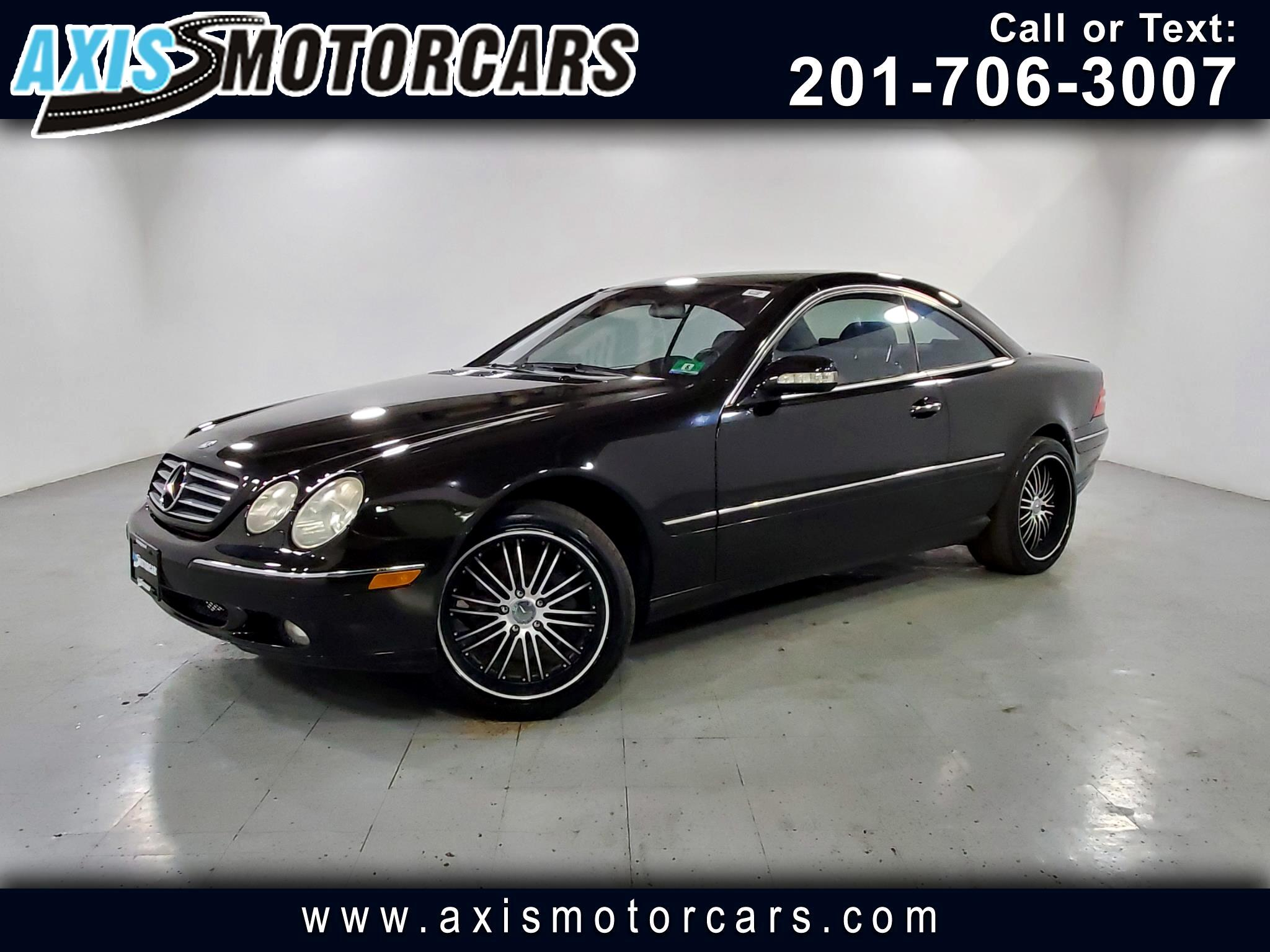 2001 Mercedes-Benz CL-Class CL500 Cpe w/Sunroof Leather